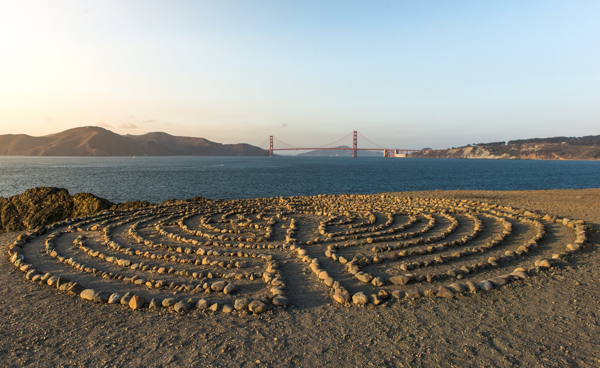 Land's End Labyrinth in San Francisco - Best Time