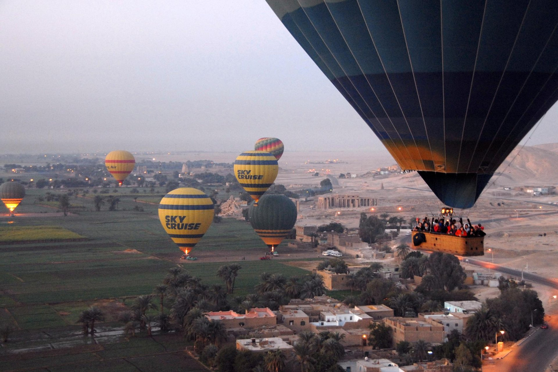 Hot Air Balloon Festival in Luxor in Egypt - Best Season 2020
