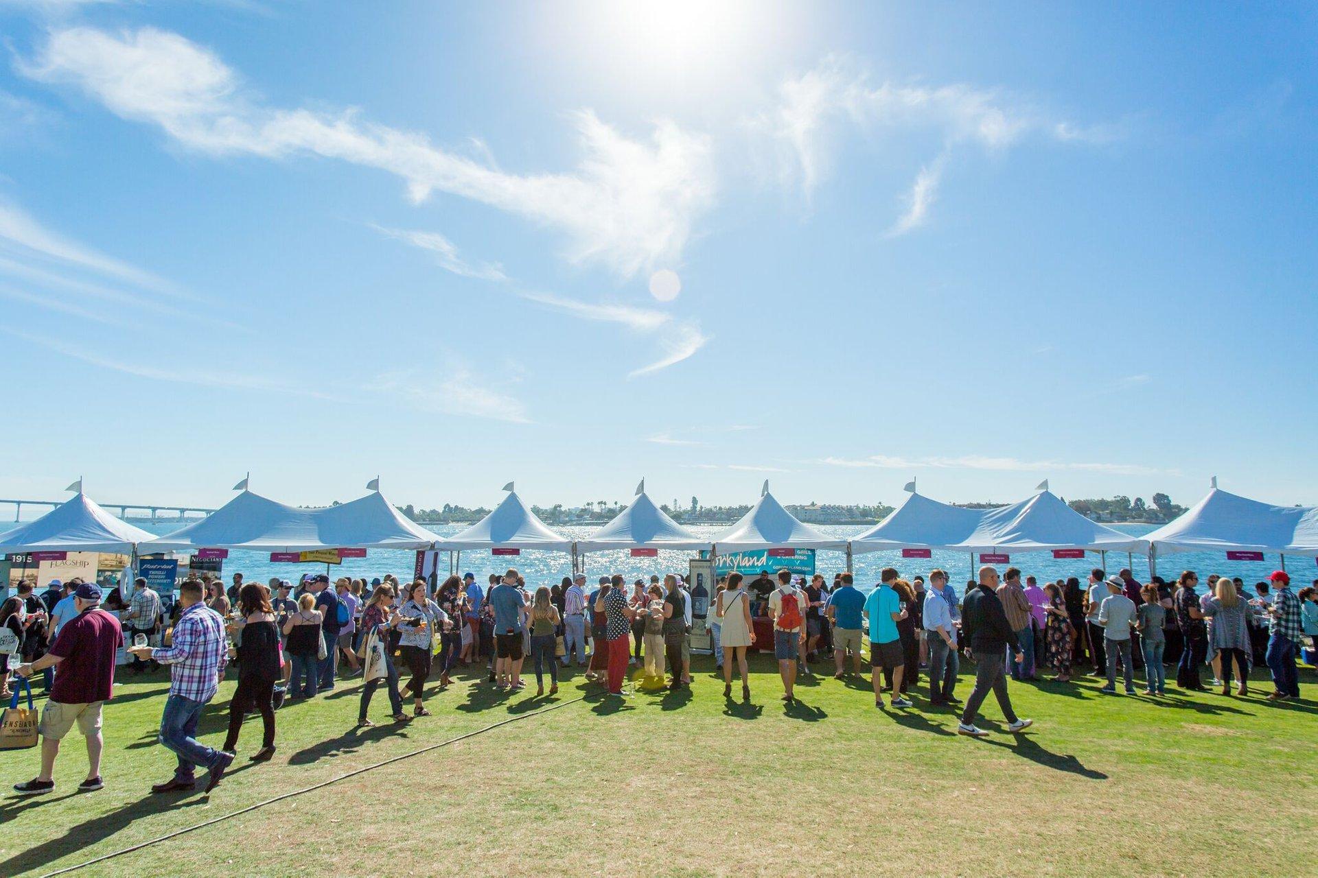 San Diego Bay Wine + Food Festival in San Diego - Best Time