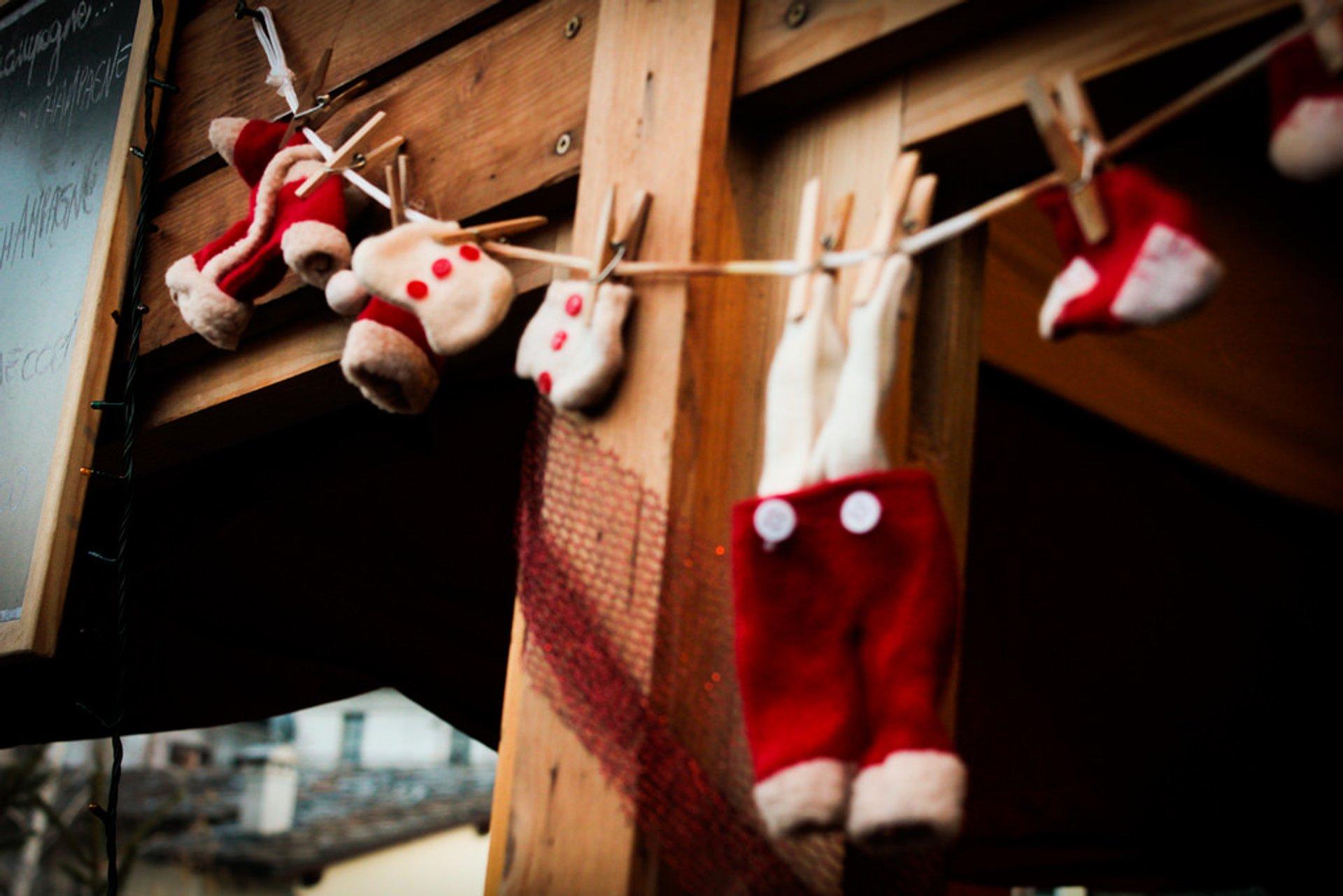 Aosta Christmas market 2020