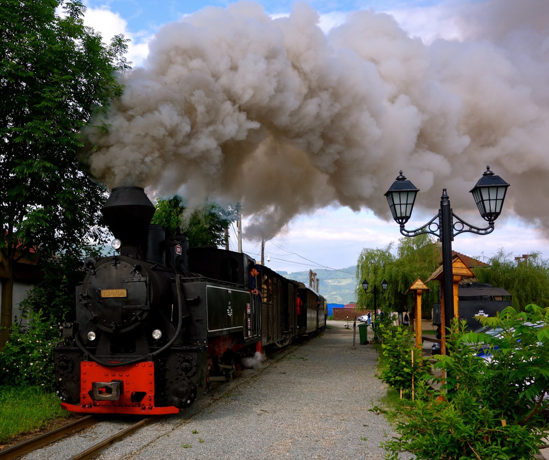 Mocăniţa Steam Train in Romania - Best Season 2020