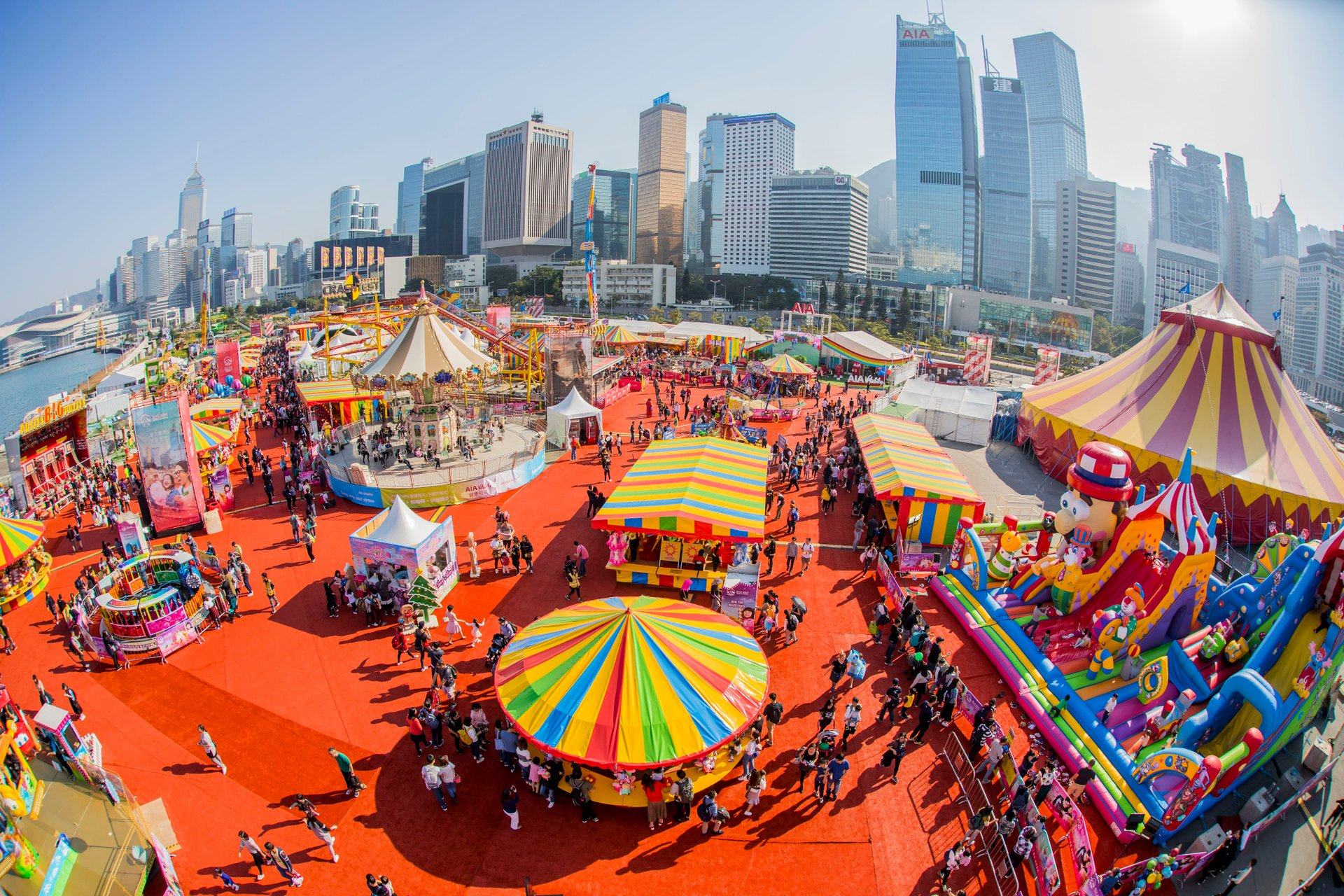 AIA Carnival in Hong Kong - Best Season 2020
