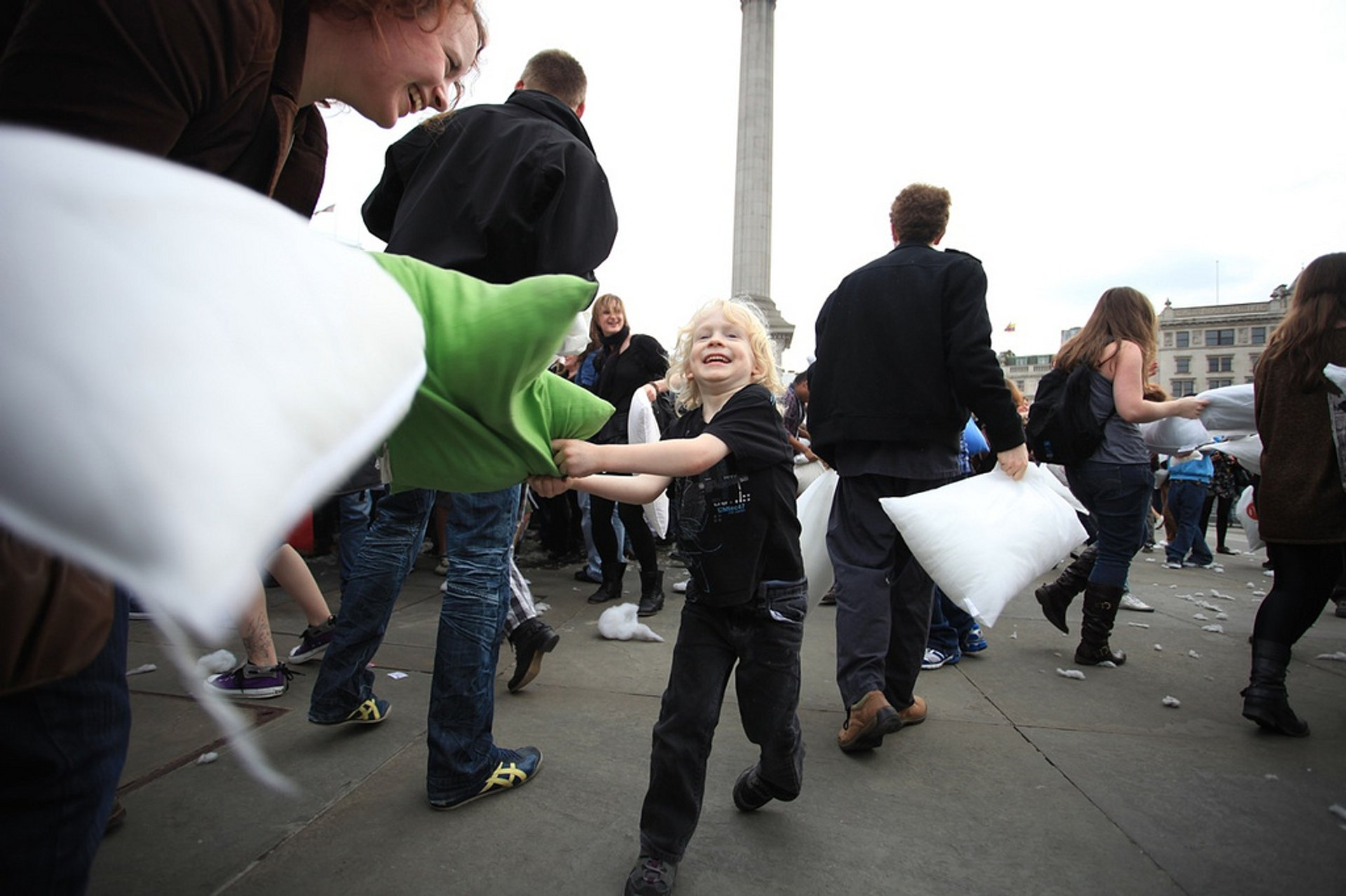International Pillow Fight Day in London 2020 - Best Time