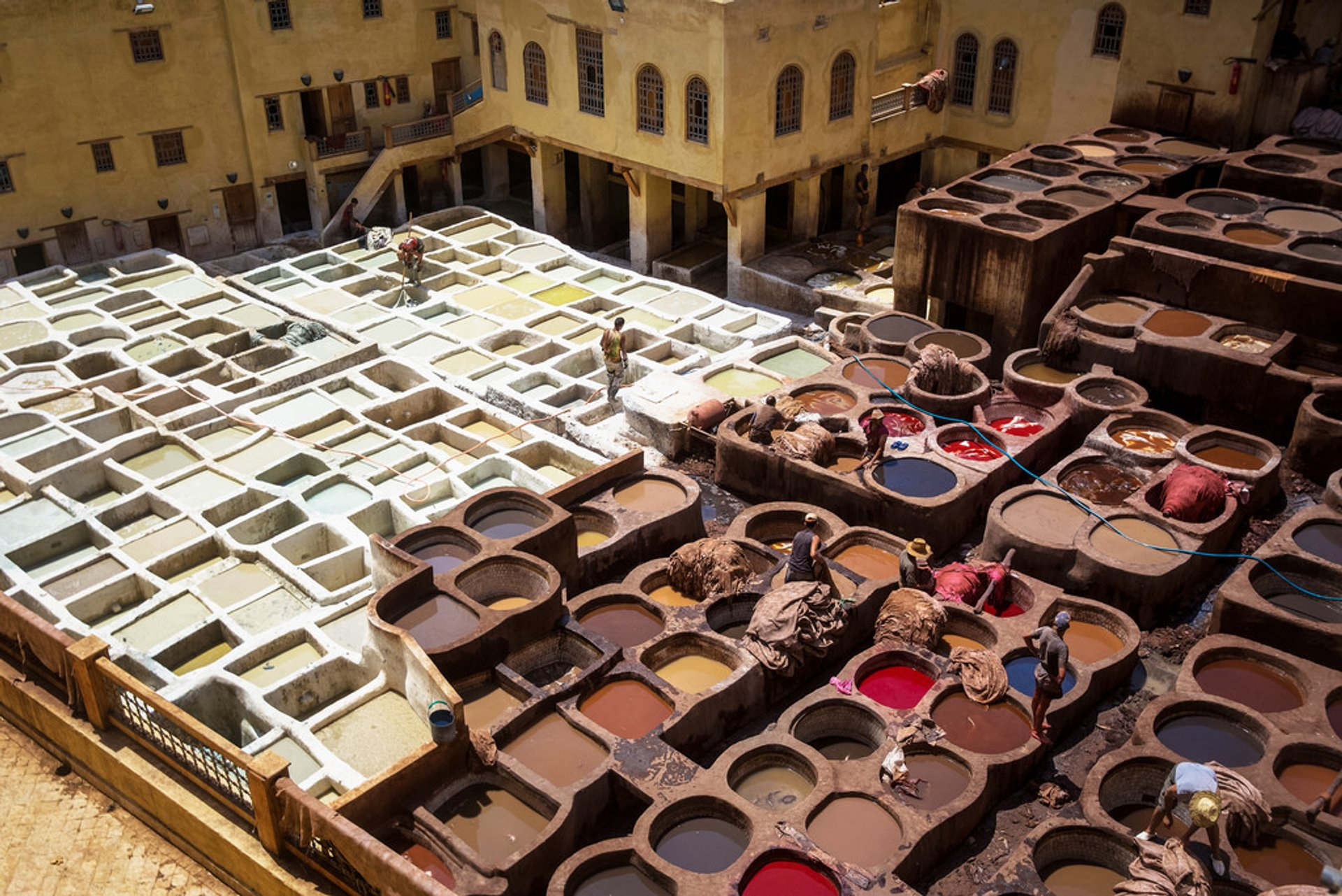 Fes Tanneries in Morocco - Best Season 2020