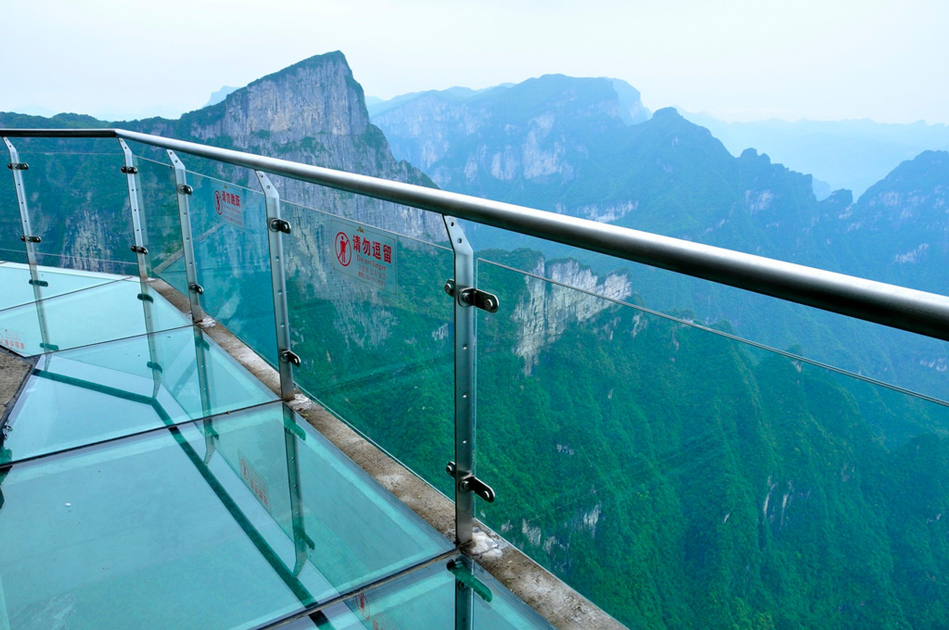 Glass Plank Road at Tianmen Mountain in China - Best Season 2020