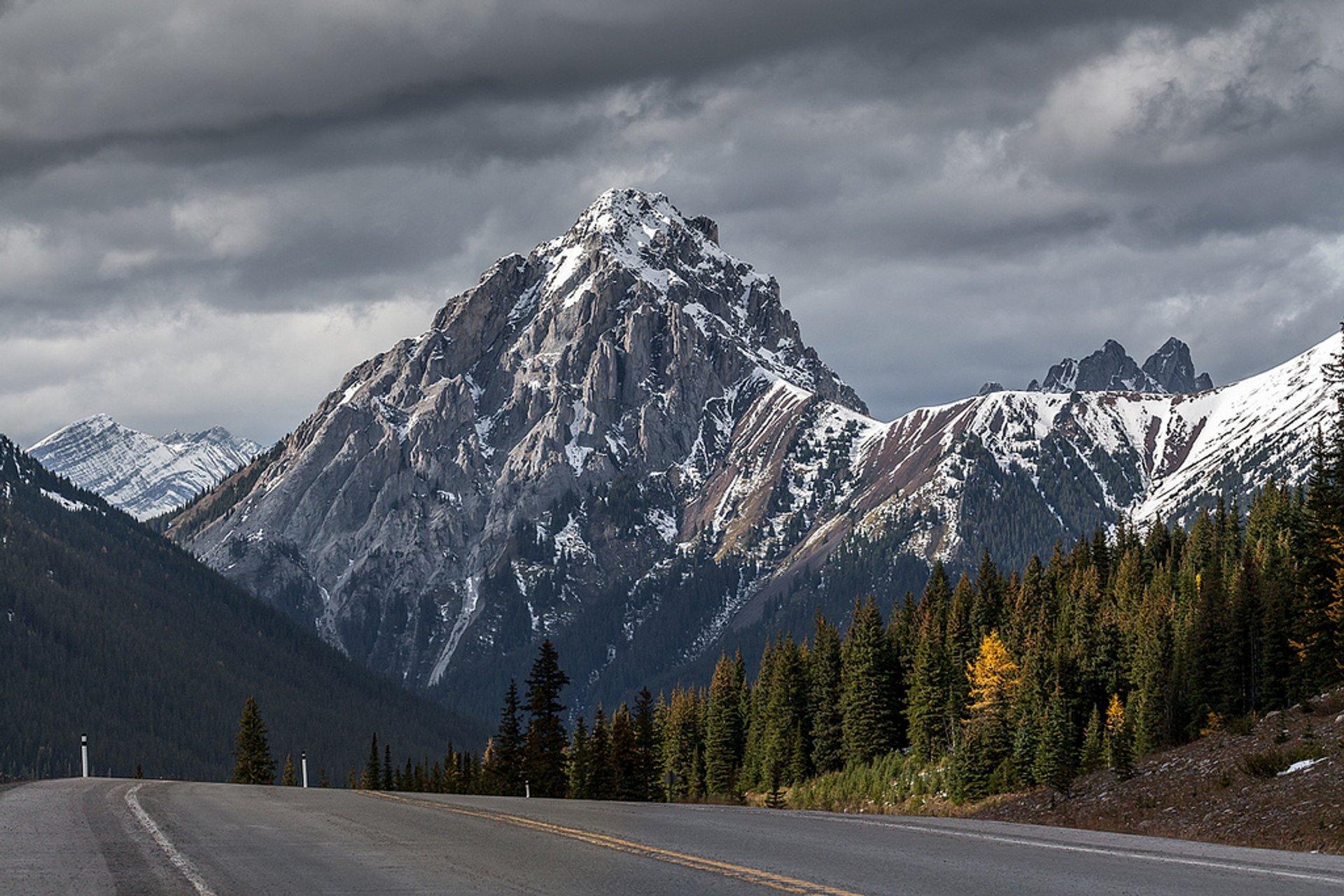 Gap mountain, by Highway #40, Kananaskis country, Alberta, Canada 2019