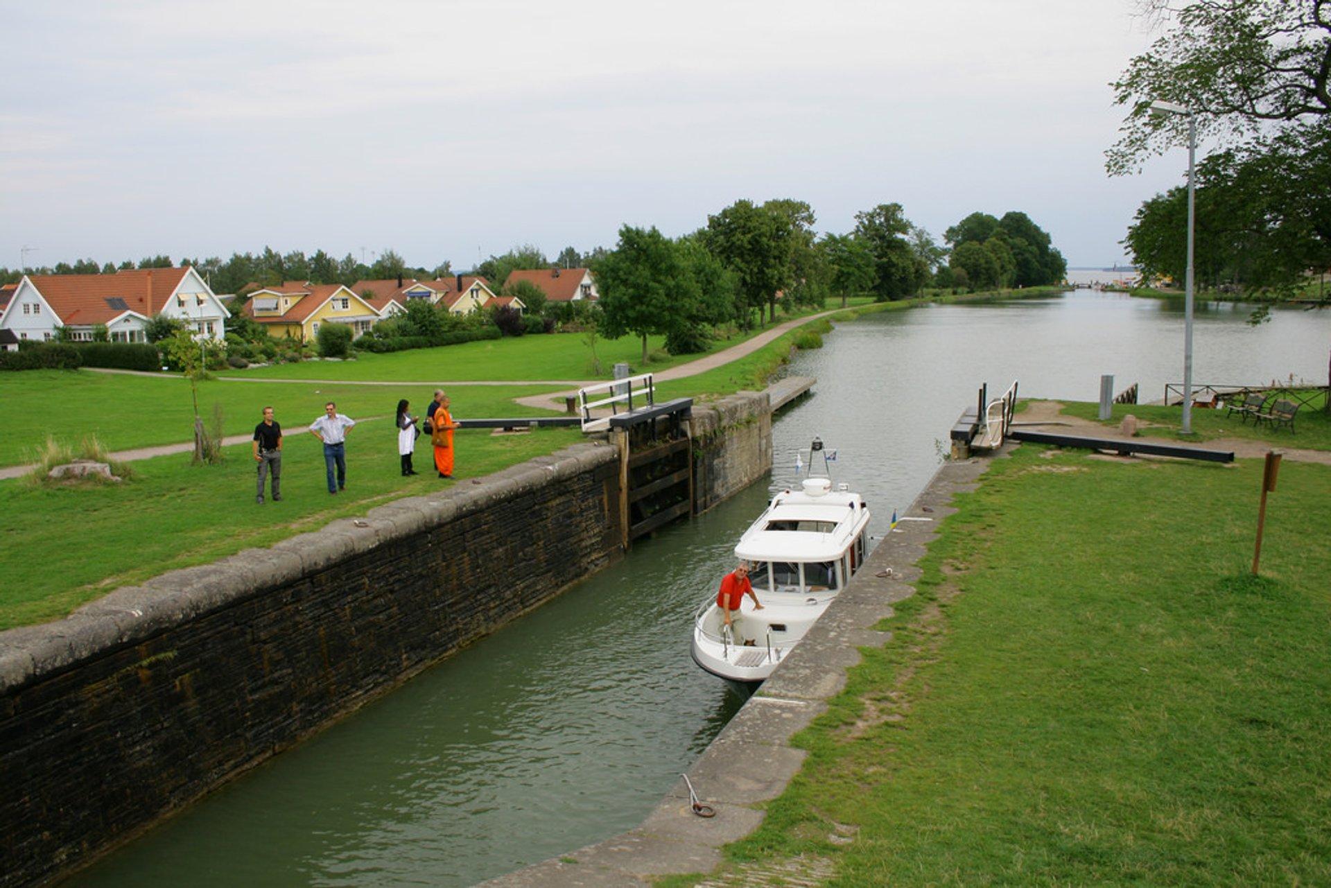 Best time for Göta Canal Season in Sweden 2020