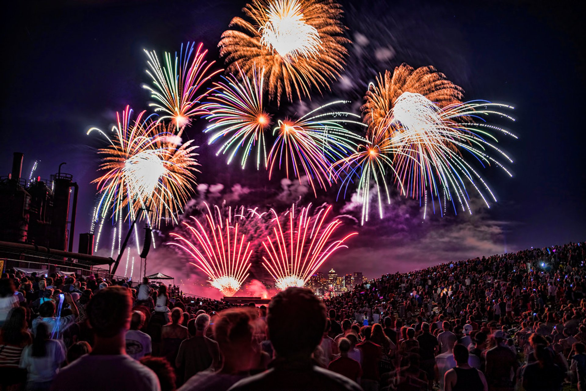 Annual 4th of July celebrations at Gas Works and Lake Union Park 2020