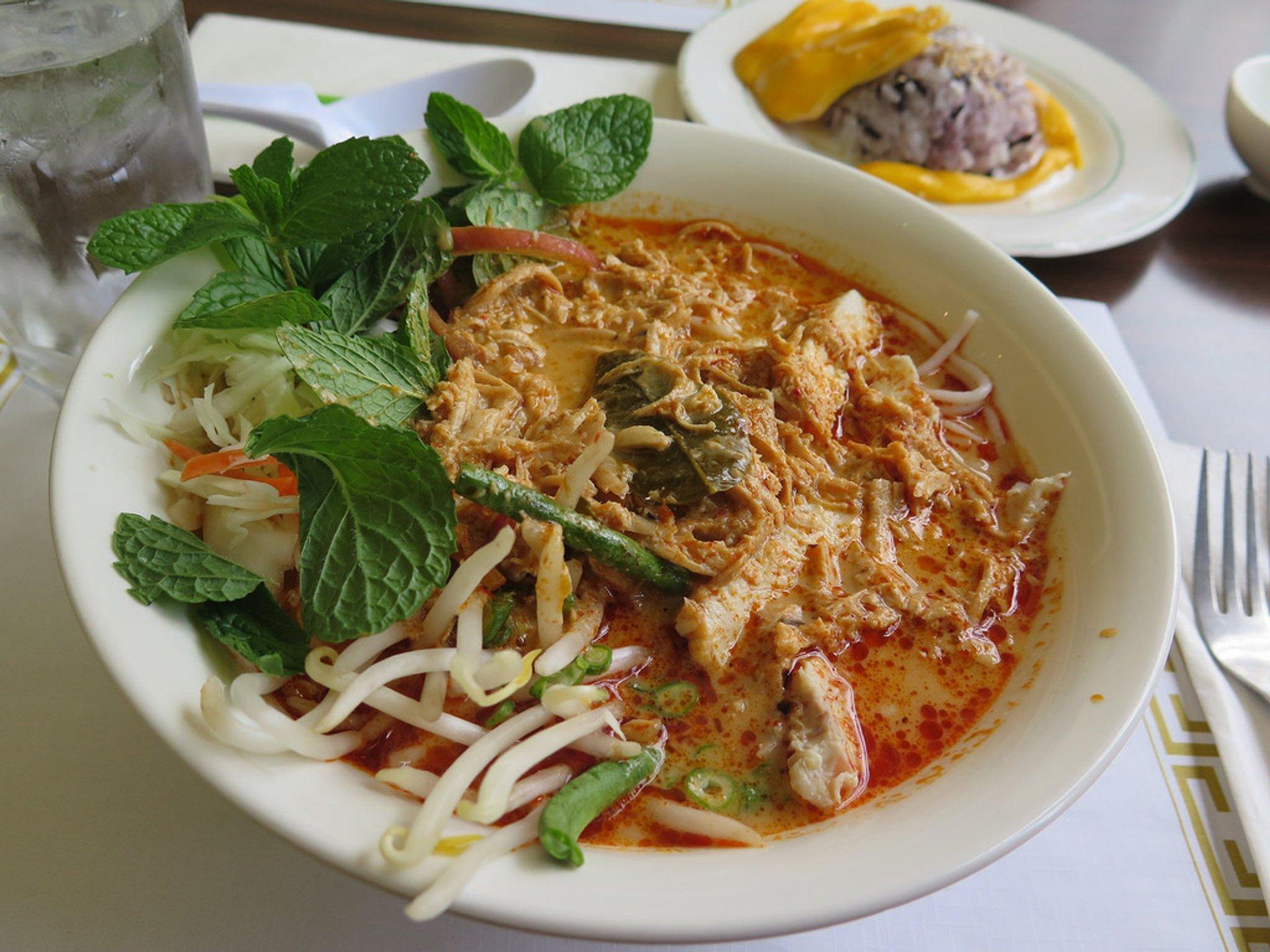 Khao Poun Soup in Laos 2020 - Best Time
