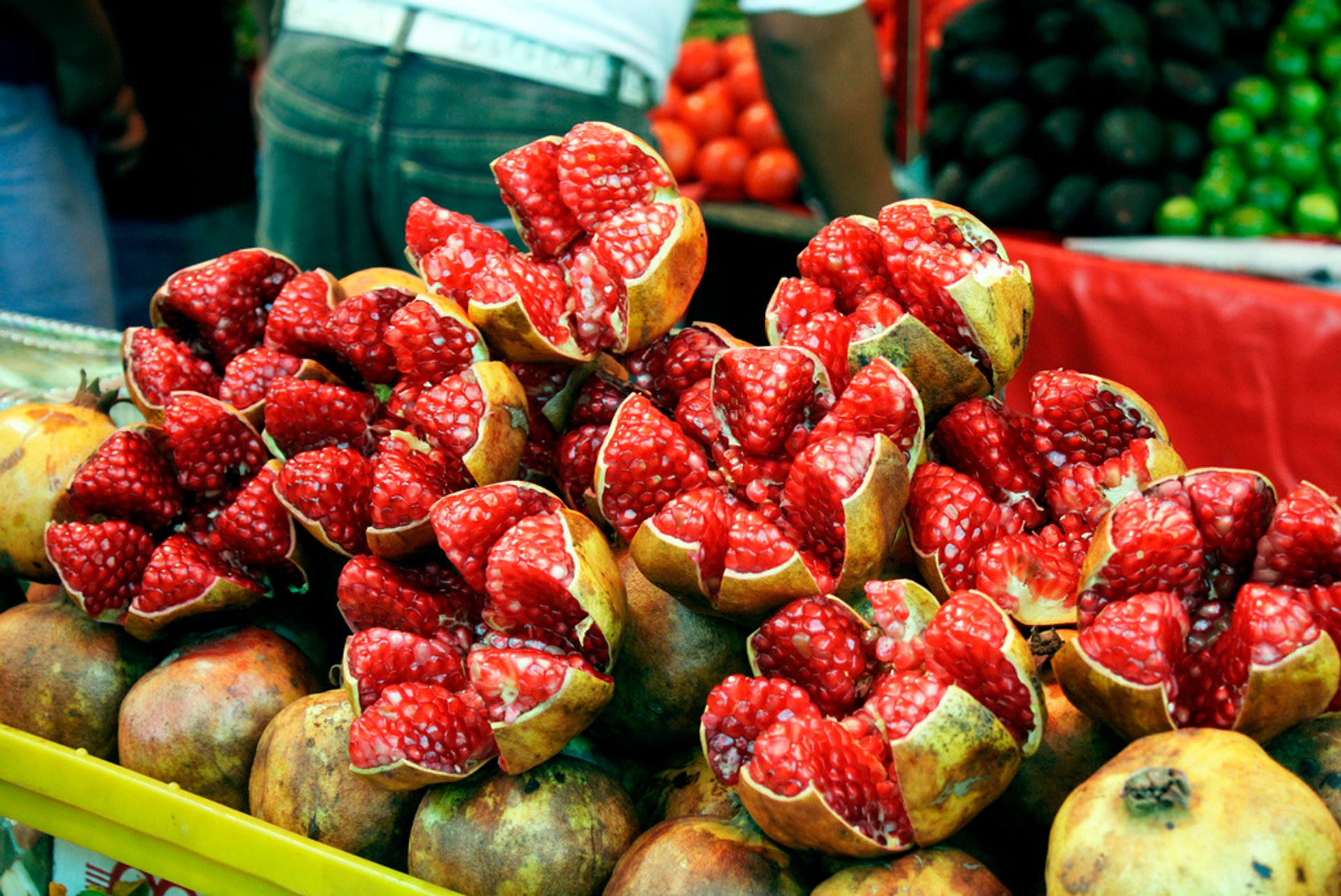 Best time for Granadas or Pomegranates in Mexico 2020