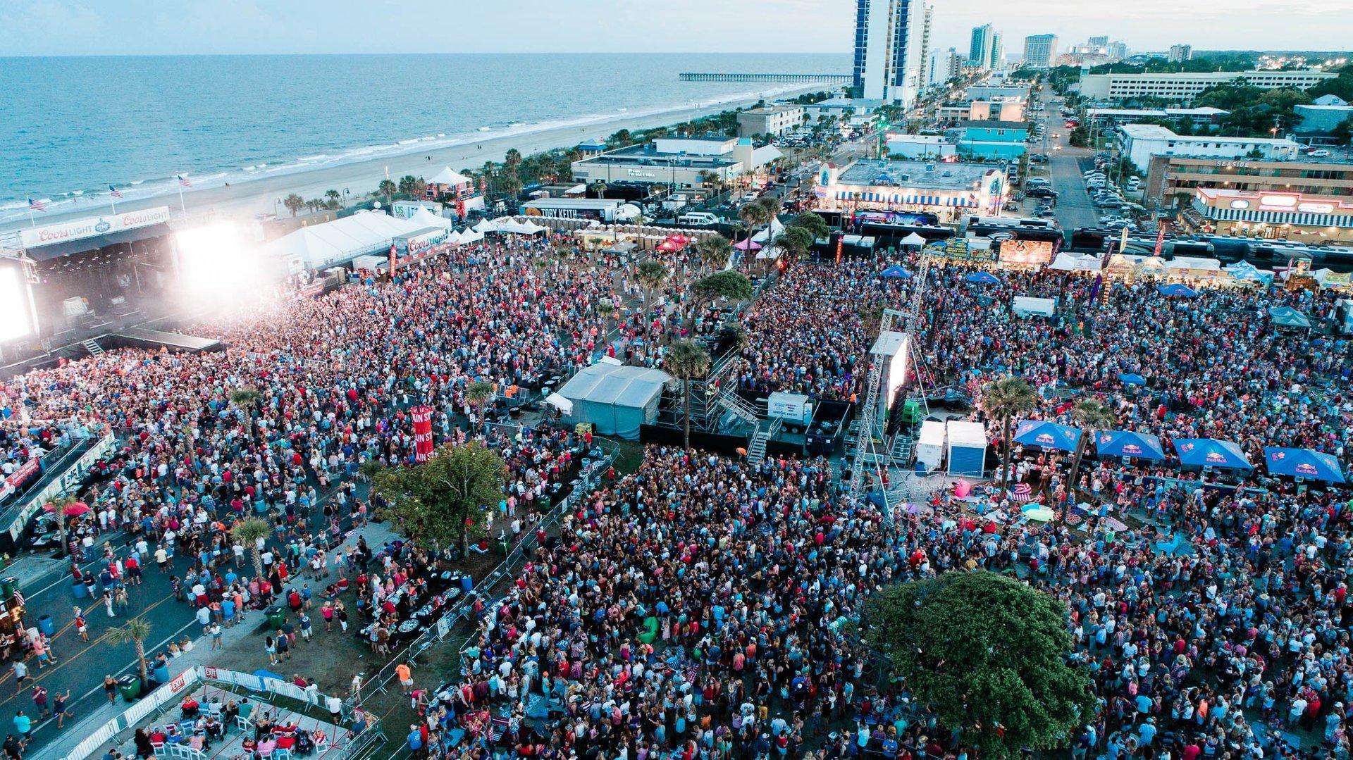 Myrtle Beach Country Music Festival 2020.Carolina Country Music Fest 2020 In South Carolina Dates Map