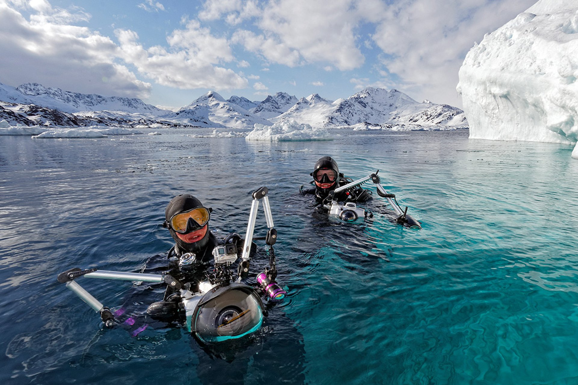 Best time for Diving in Greenland 2019