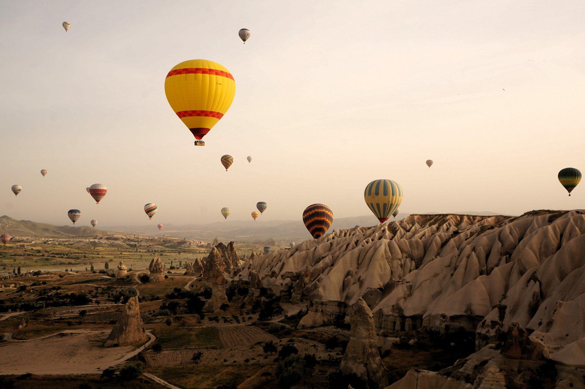 Ballooning Сhallenge in Cappadocia 2020 - Best Time