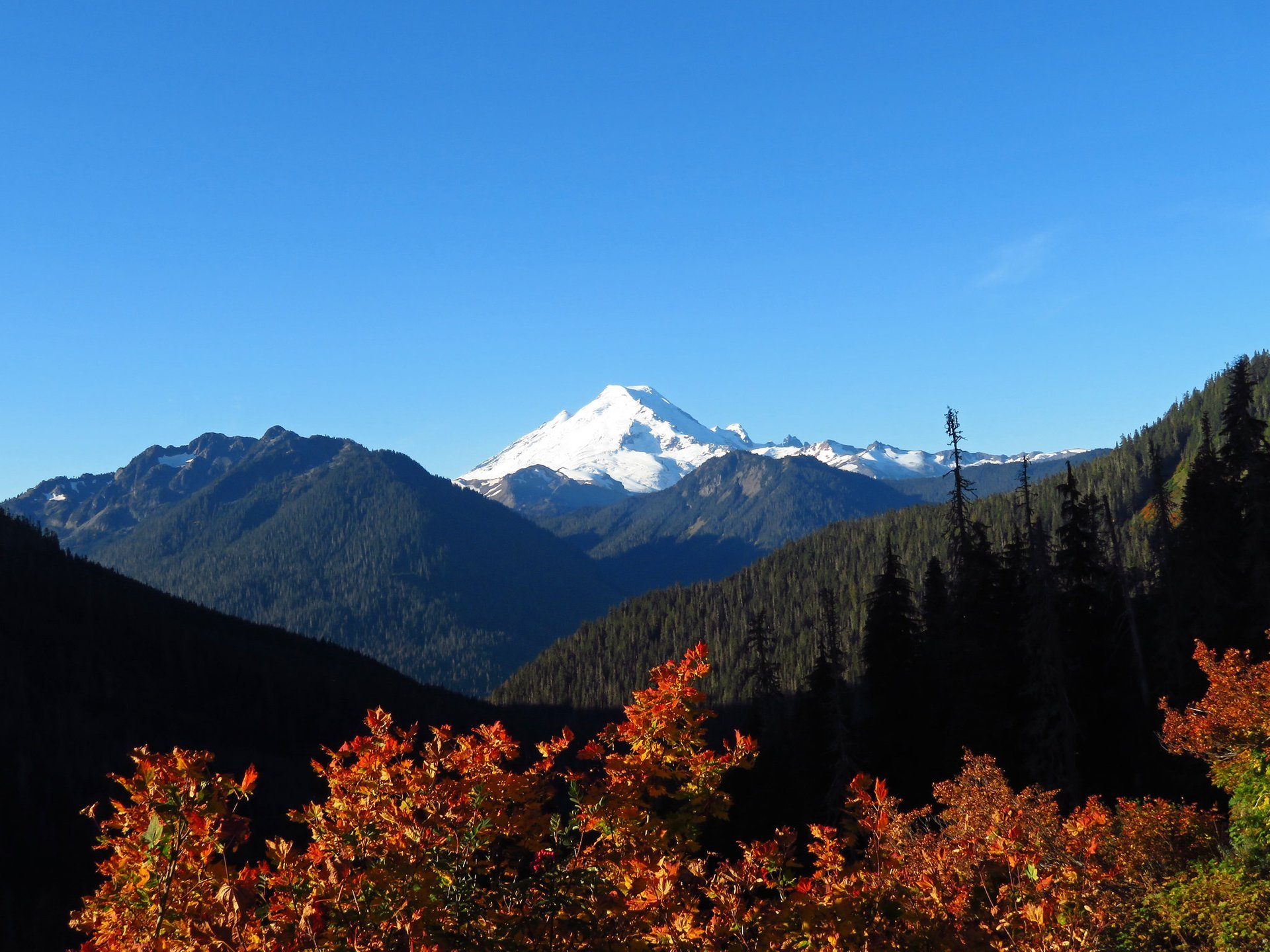 Mount Baker at North Cascades National Park and Mount Baker-Snoqualmie National Forest in Washington  2020
