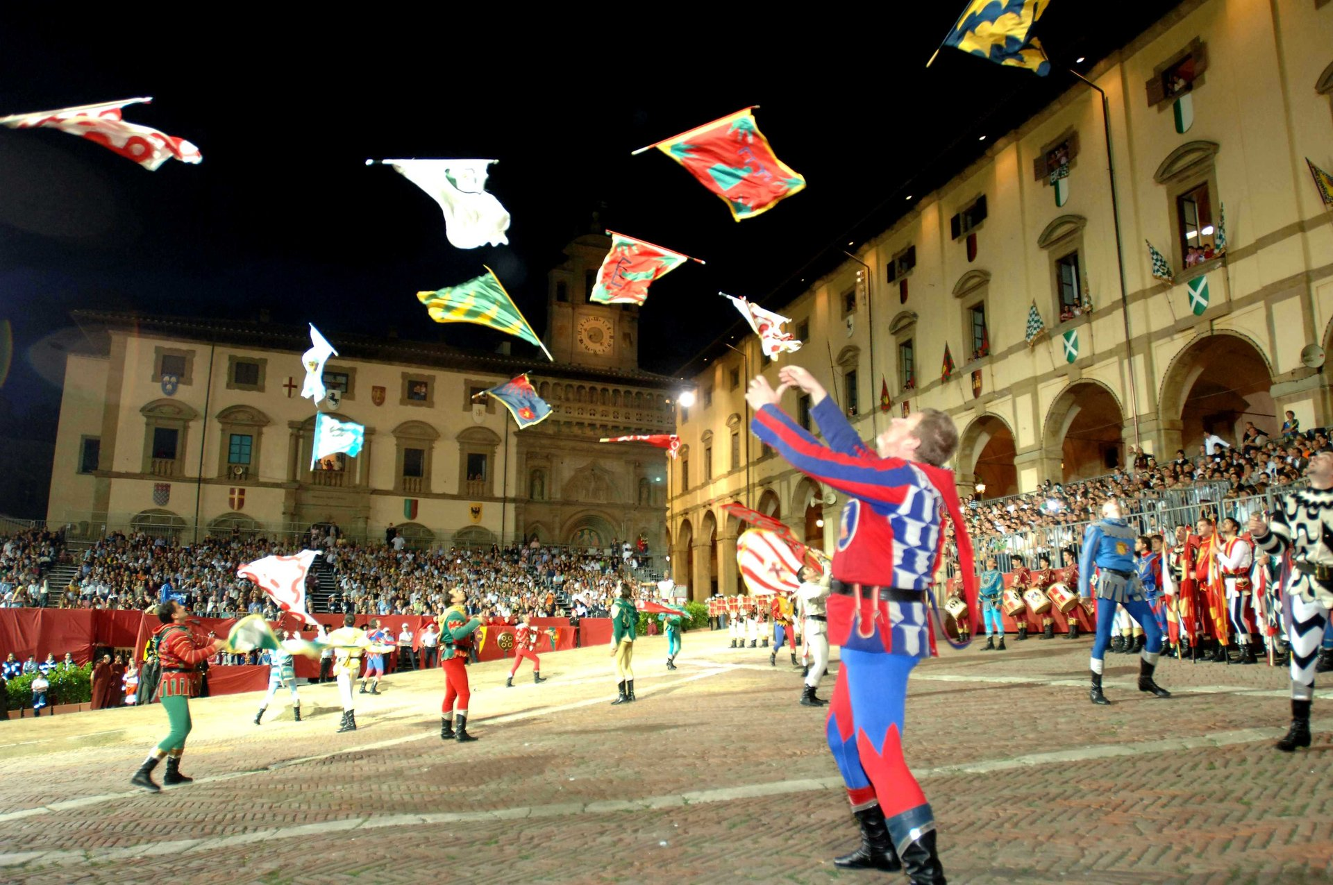 Best time to see Giostra del Saracino (Joust of the Saracens) in Tuscany 2020