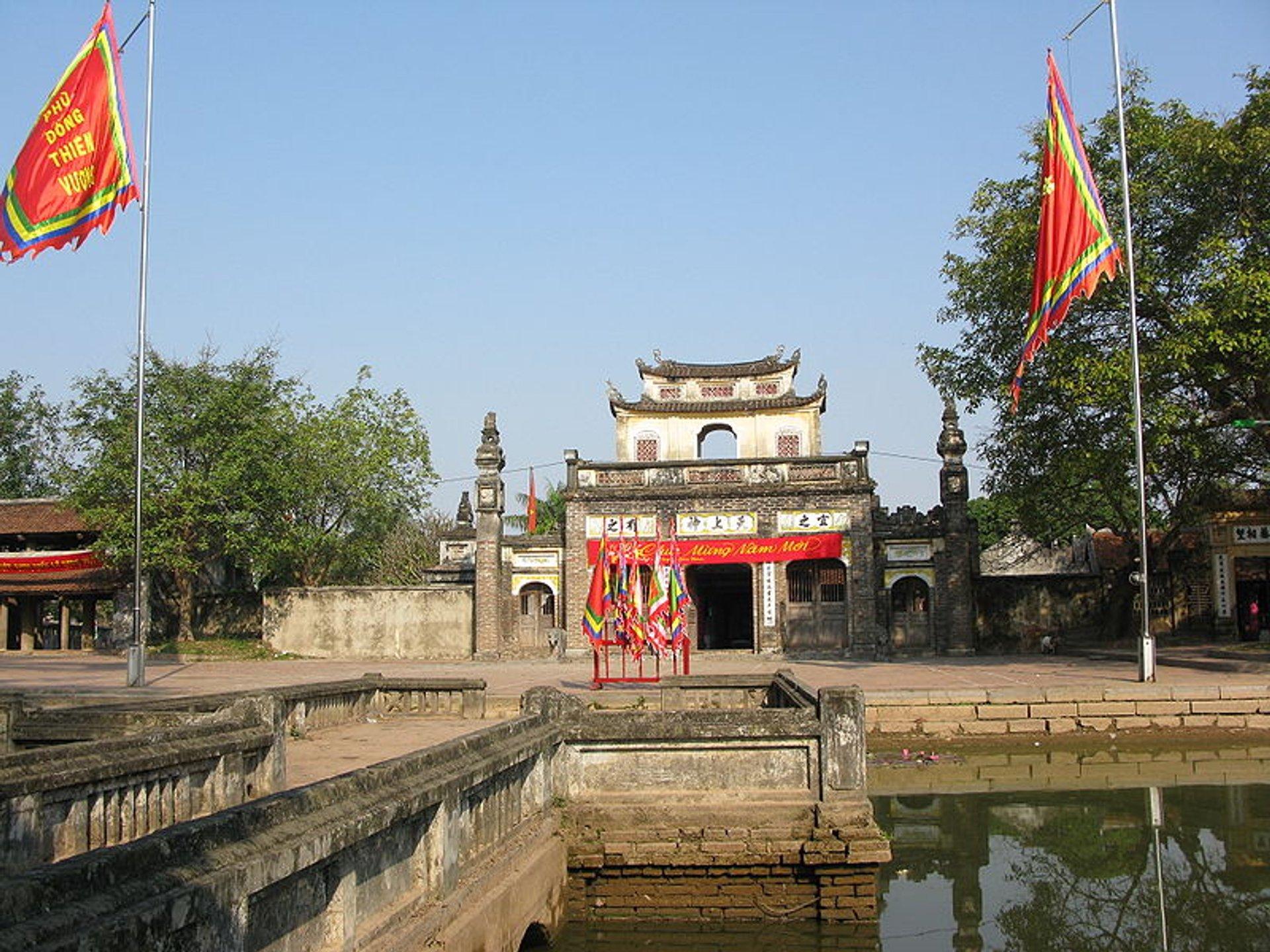 Best time for Giong Festival in Vietnam