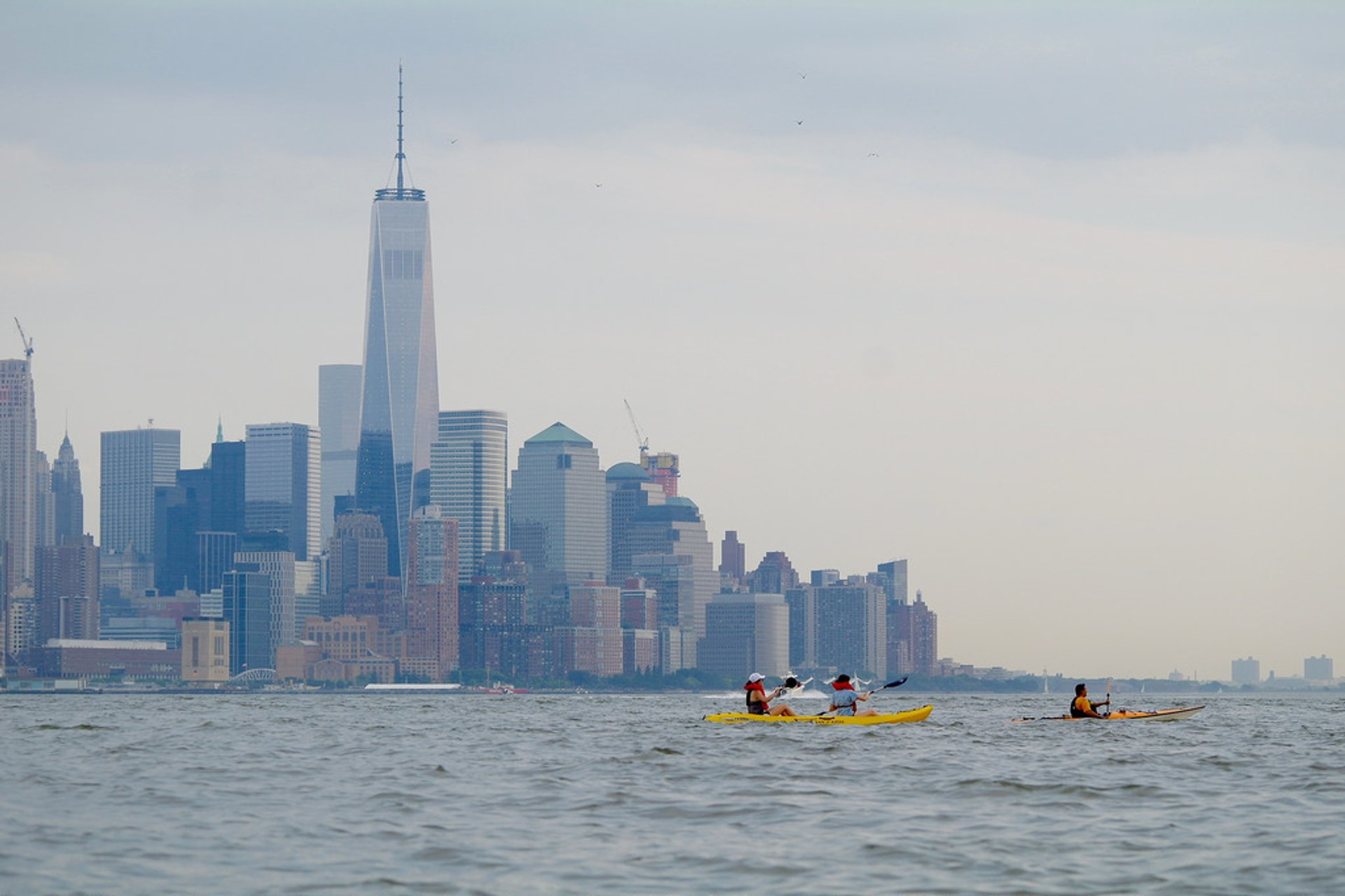 Kayaking on the Hudson in New York - Best Season