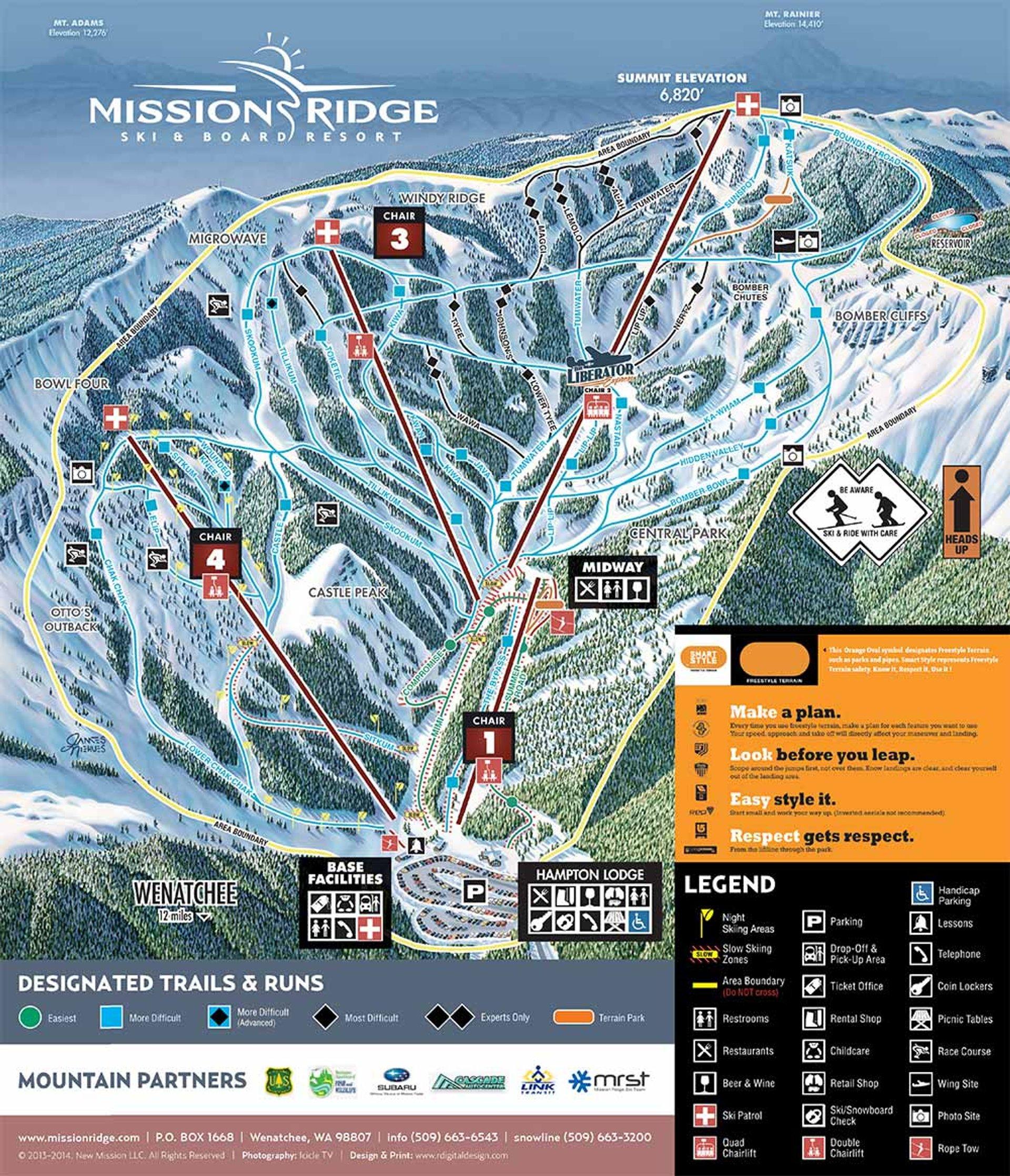 Skiing and Snowboarding in Washington - Best Season 2020