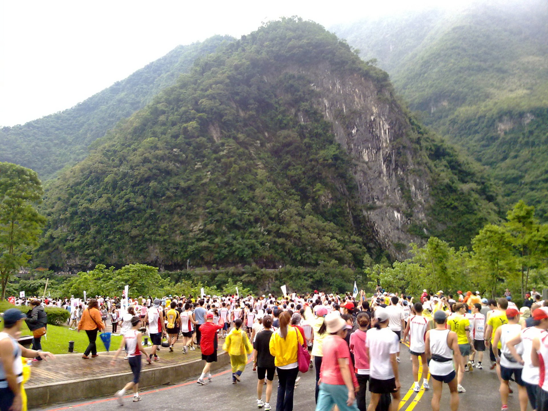 Taroko Gorge Marathon in Taiwan - Best Time