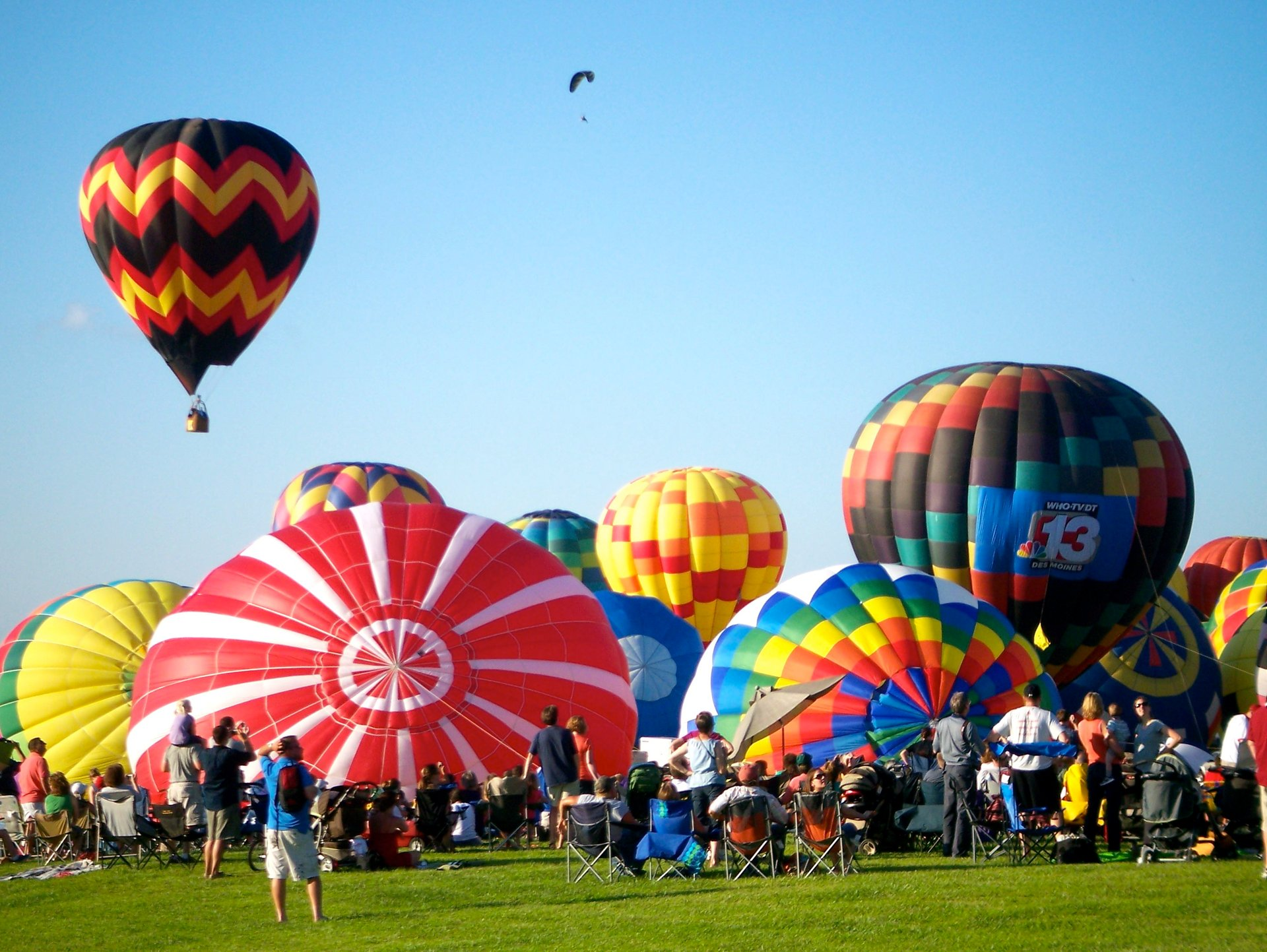 Best time to see National Balloon Classic in Iowa 2020