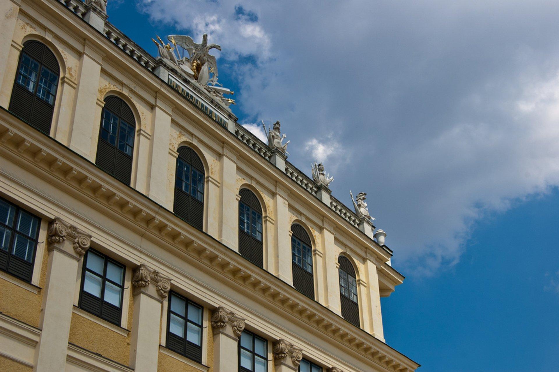 Best time for Schönbrunn Palace in Vienna 2020