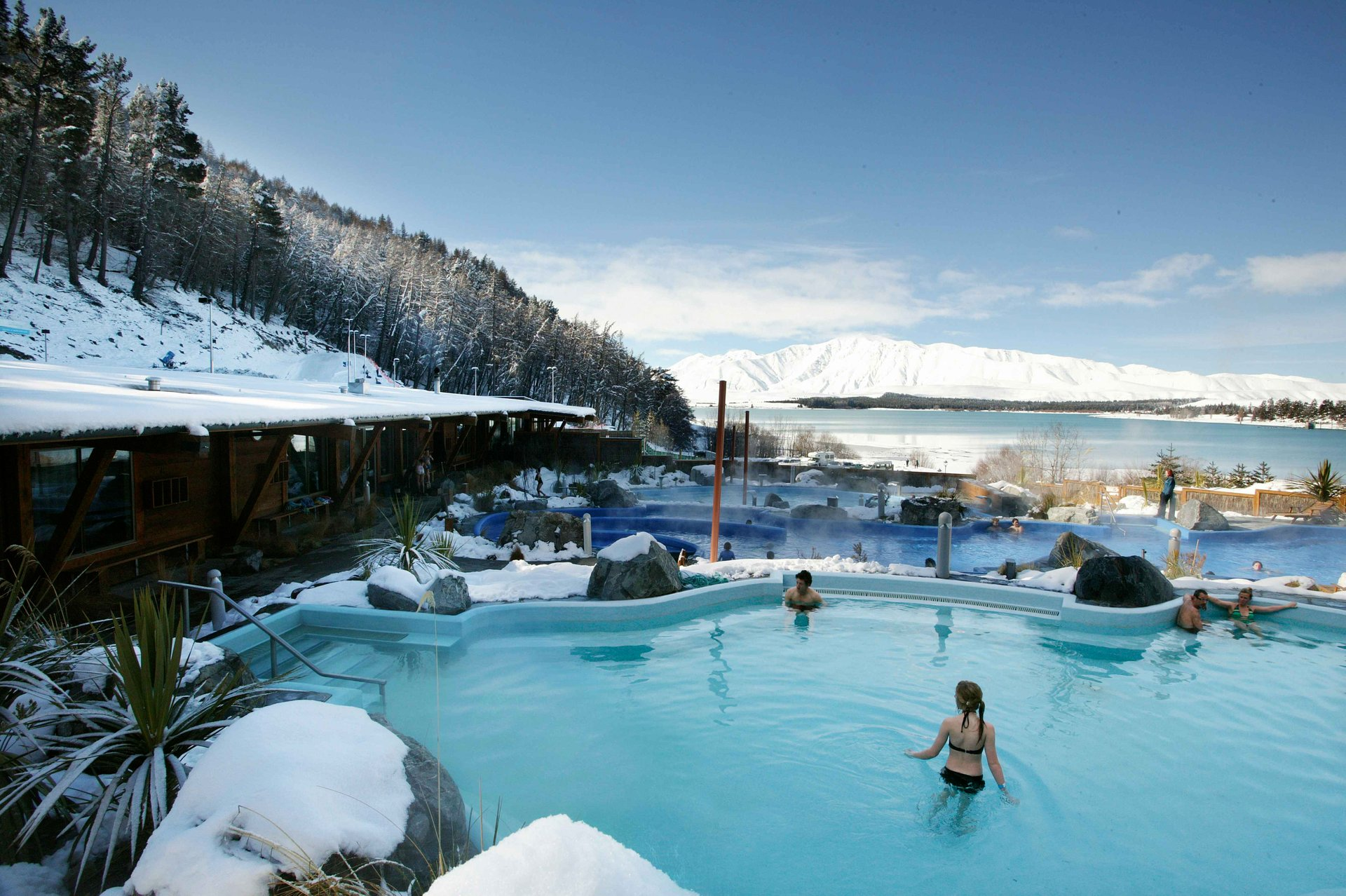 Tekapo Springs Hot Pools in New Zealand 2020 - Best Time