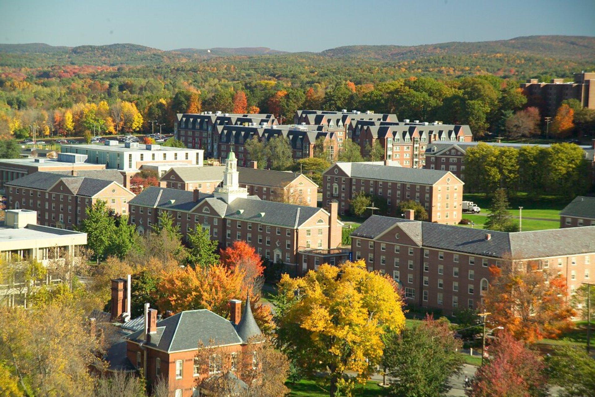 Northeast Dormitories, University of Massachusetts in Amherst 2020