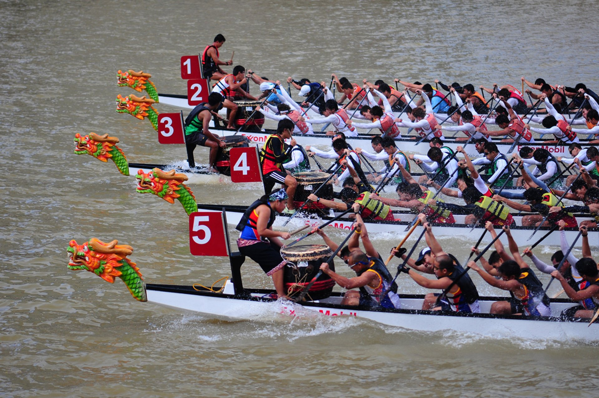 Dragon Boat Festival in Singapore 2020 - Best Time