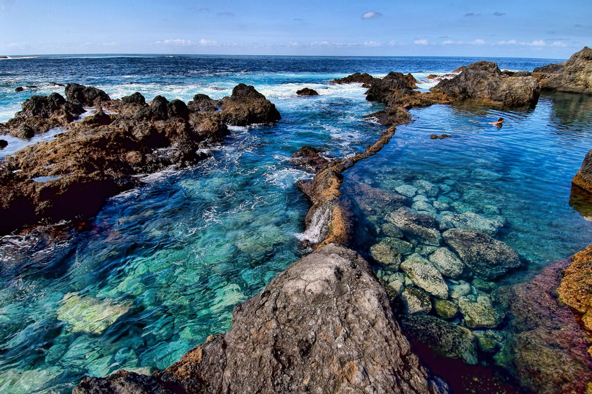 Natural Rock Pools in Canary Islands 2020 - Best Time
