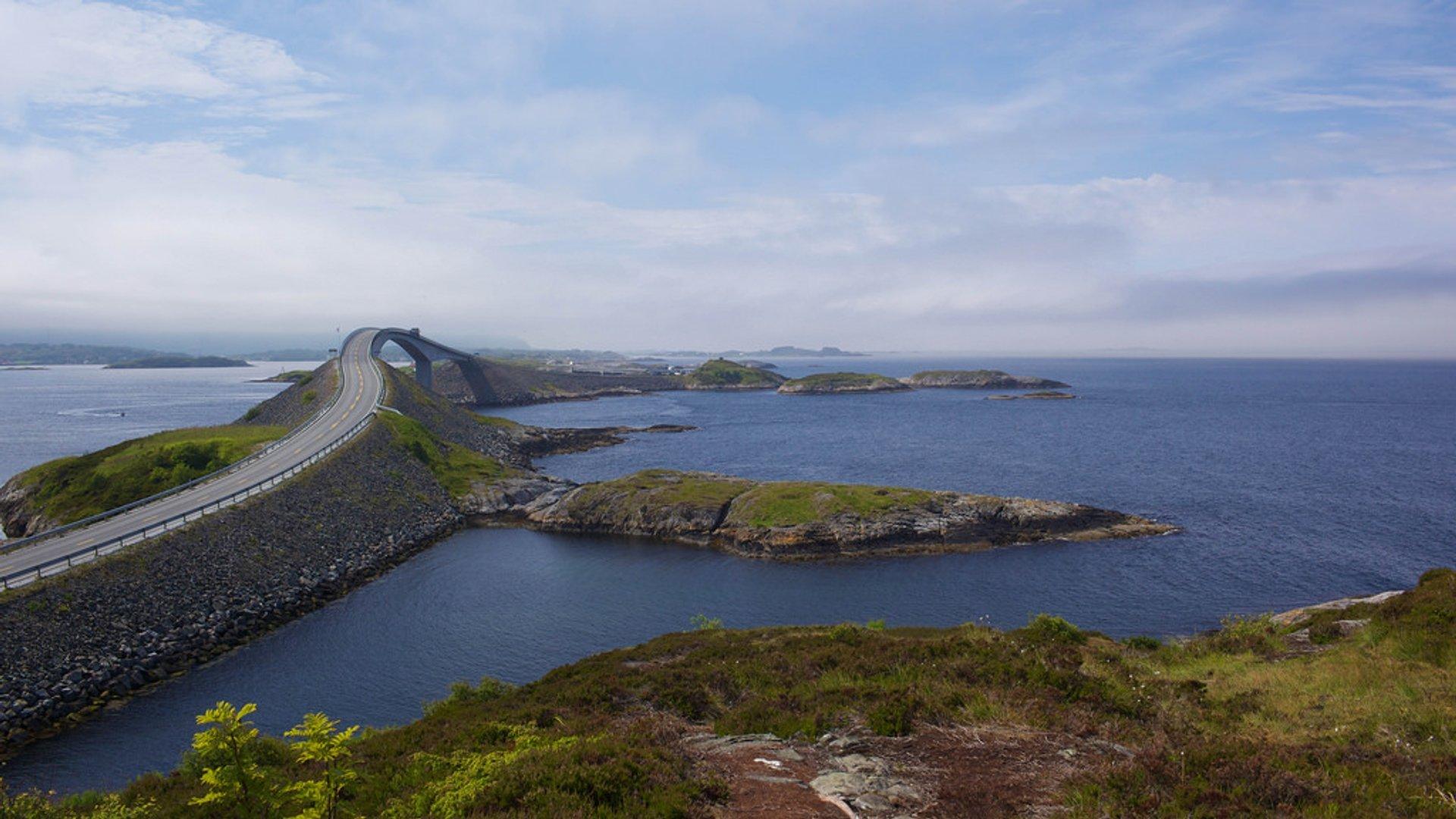 The Atlantic Ocean Road in Norway - Best Time
