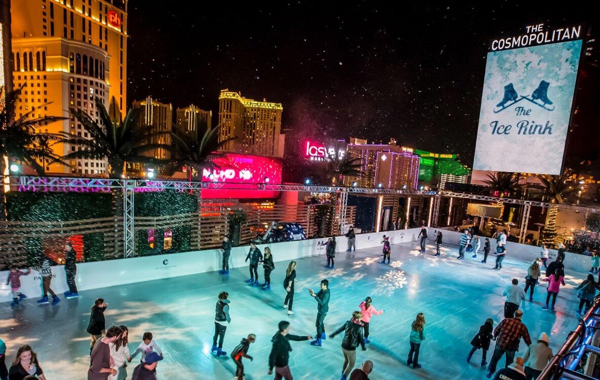 Ice Rink at the Cosmopolitan in Las Vegas - Best Season 2020