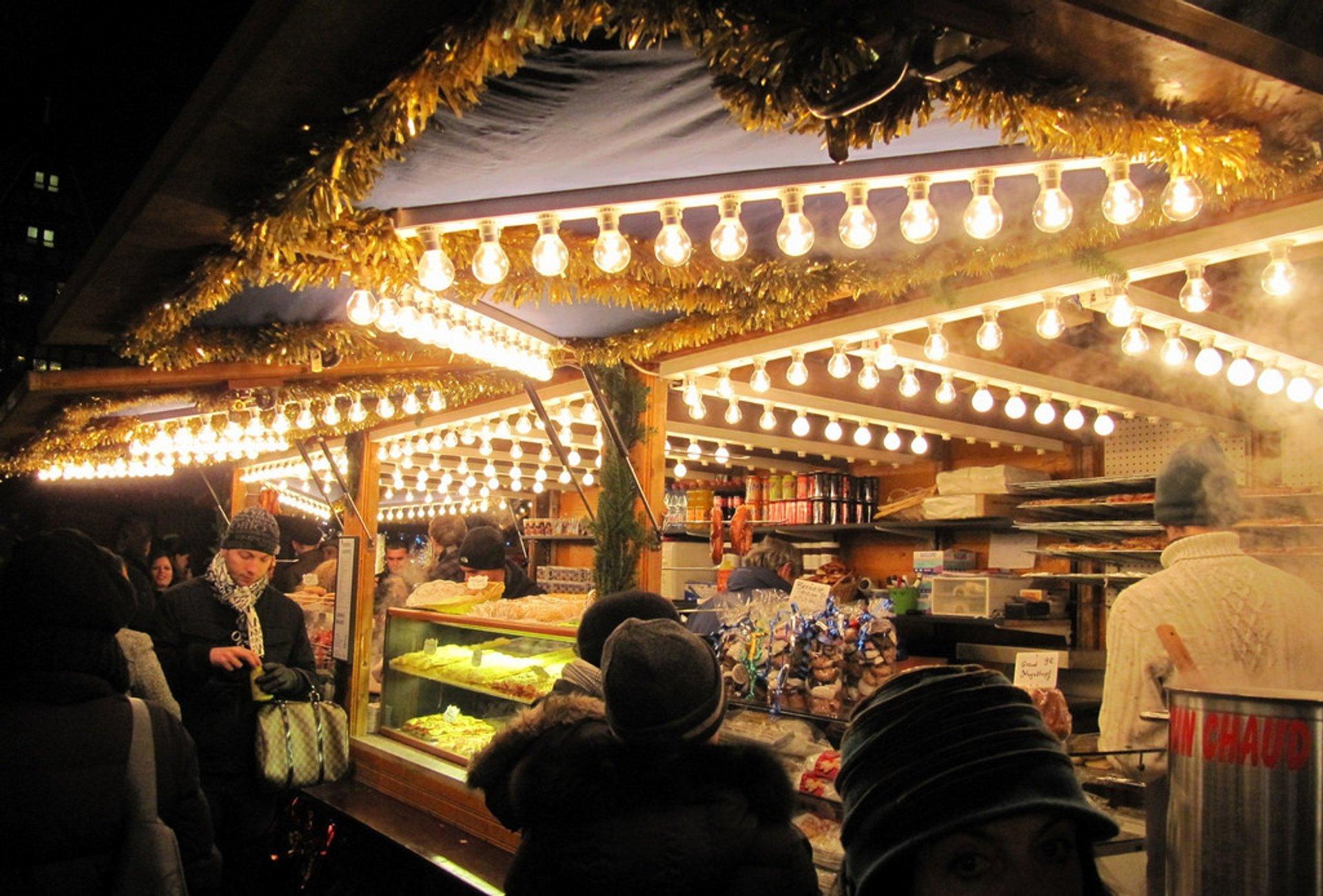 Strasbourg Christmas market 2020
