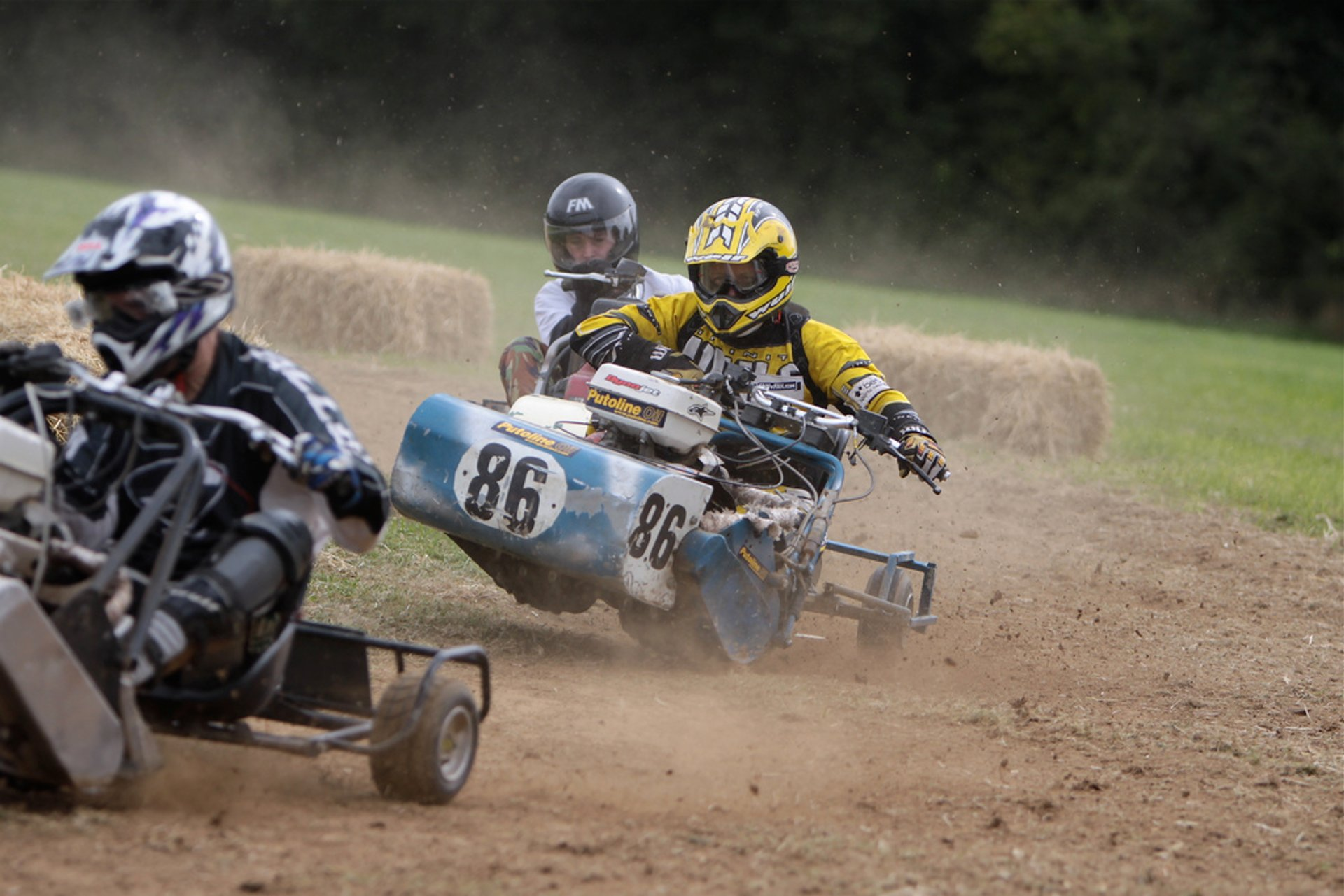 Best time for Lawn Mower Racing World Championships in England 2020