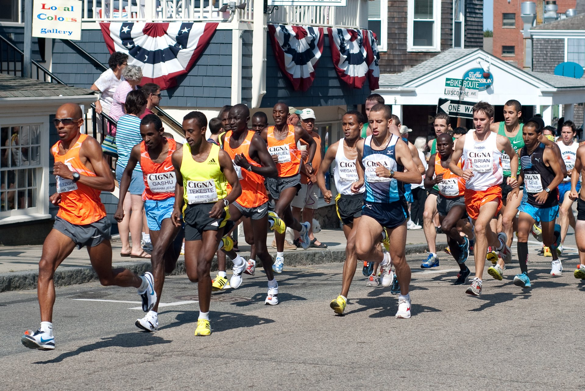Best time for Falmouth Road Race in Massachusetts 2020