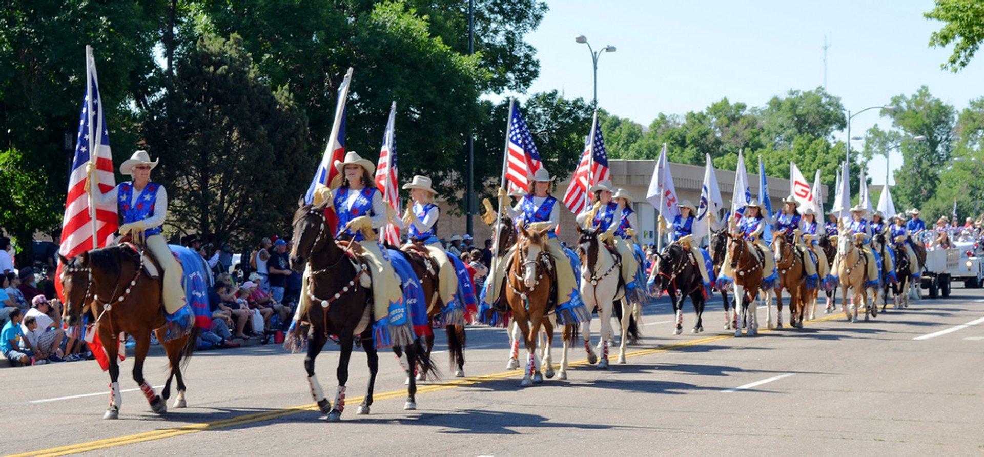 Greeley Stampede parade 2020