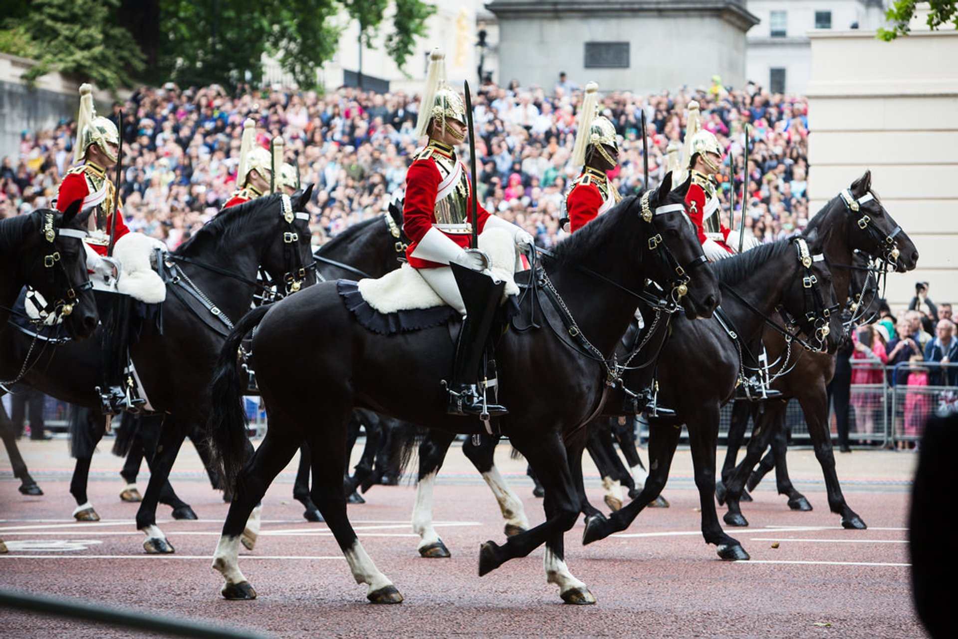 Best time to see Trooping the Colour & The Queen's Birthday Parade in London 2020