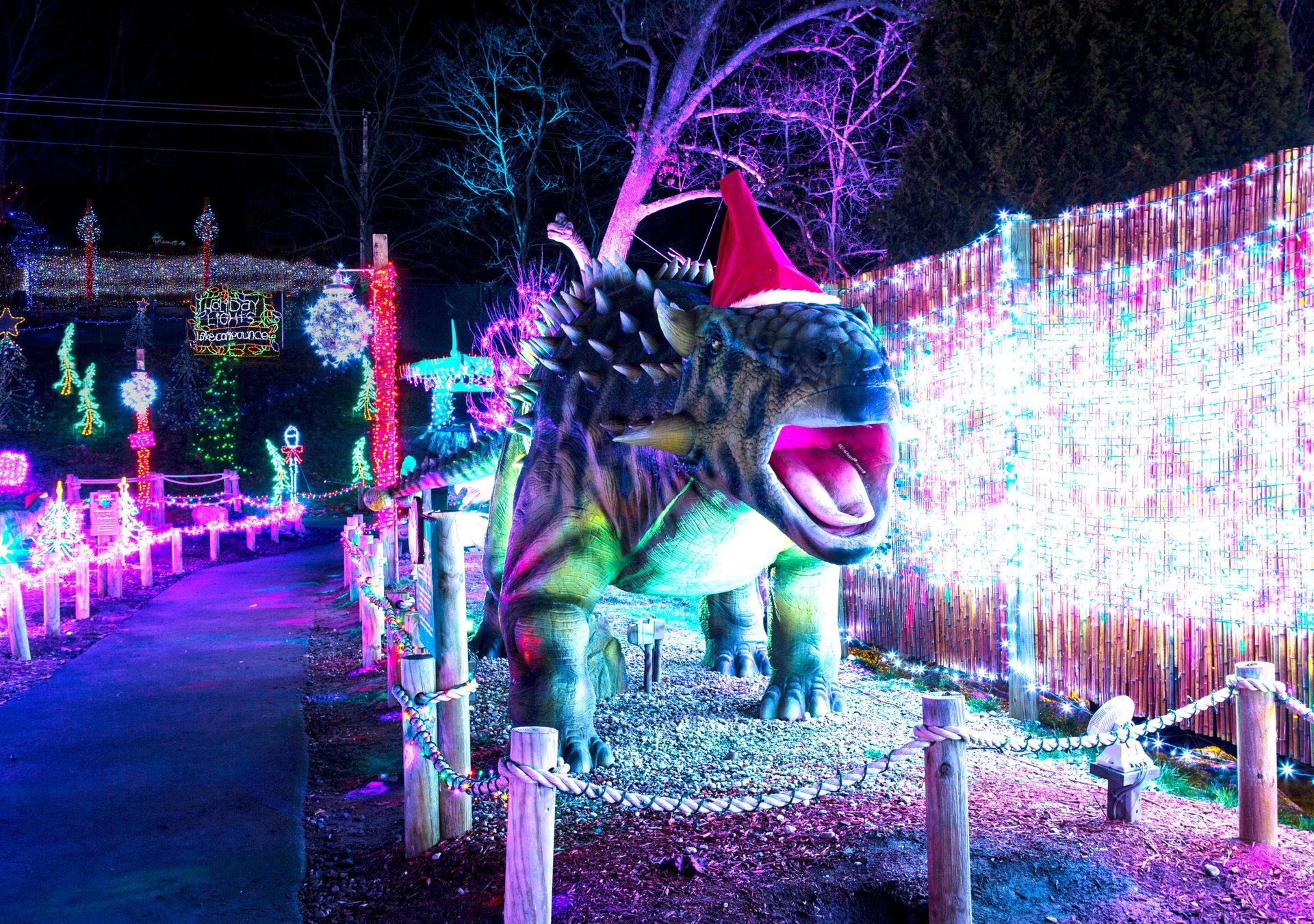 Lake Compounce Holiday Lights 2020