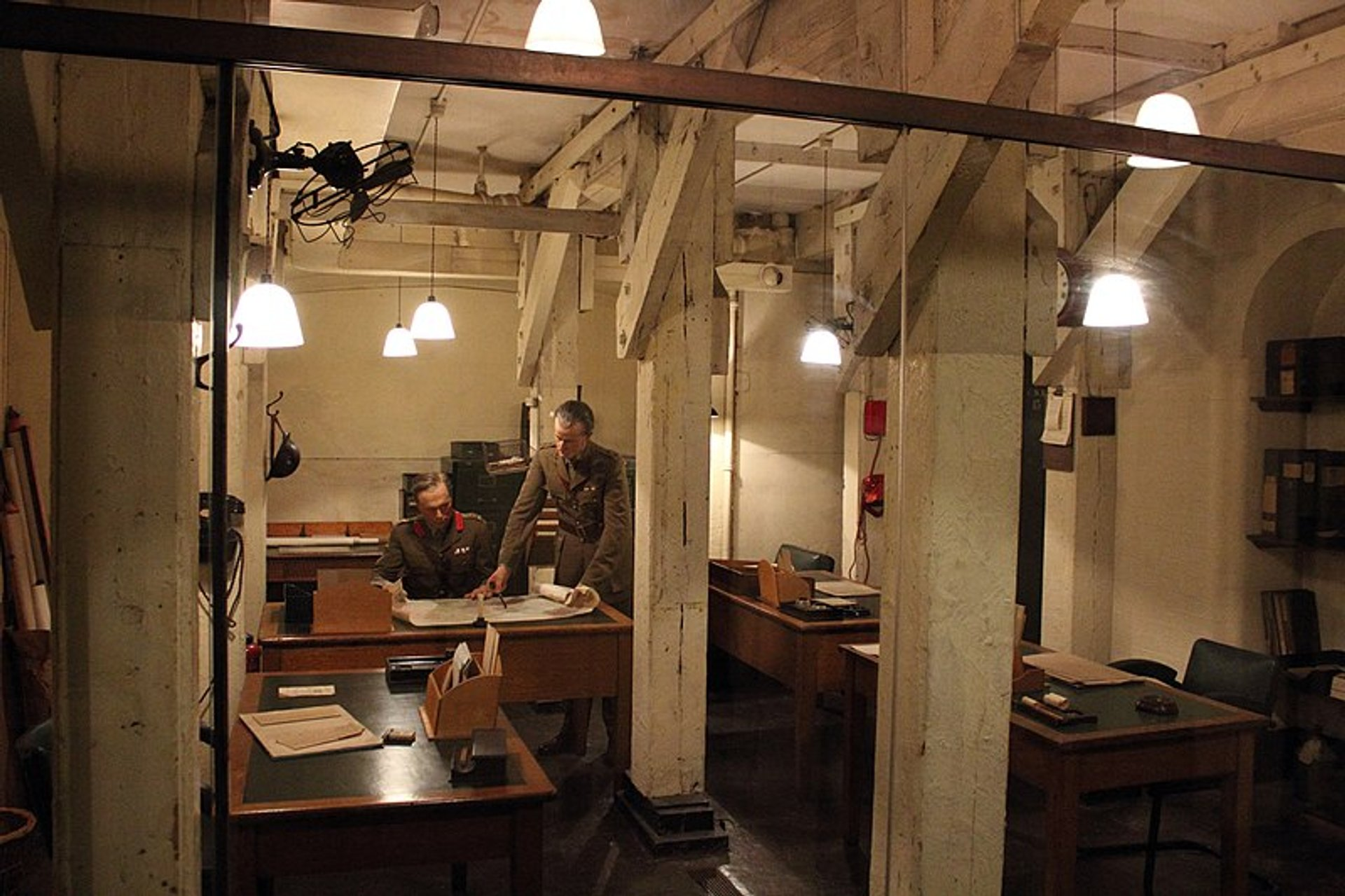 Best time for Churchill War Rooms in London 2019