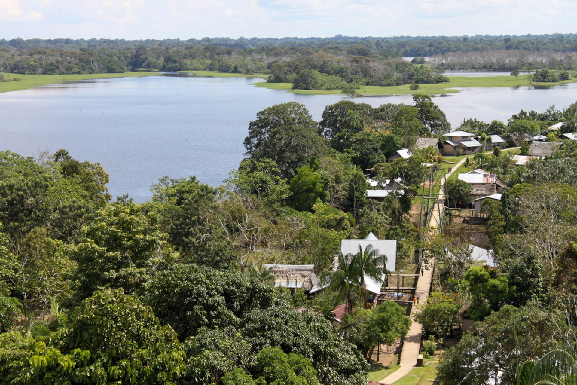 Best time for Exploring Amazon in Colombia