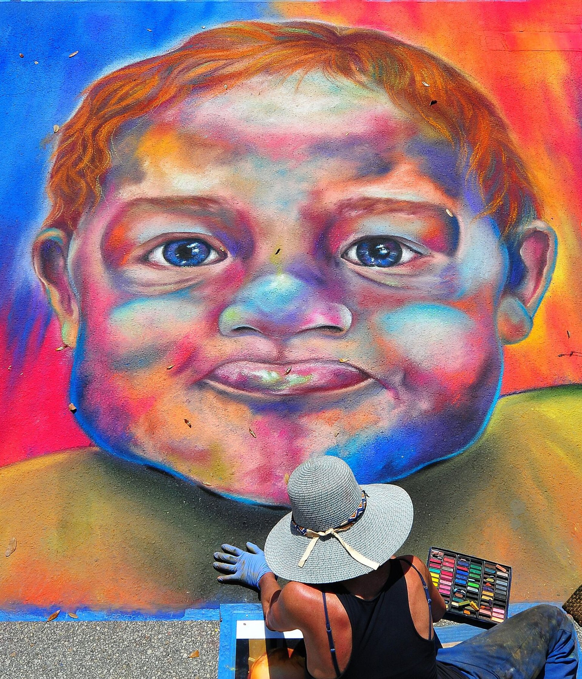 Best time for Lake Worth Street Painting Festival in Florida 2020