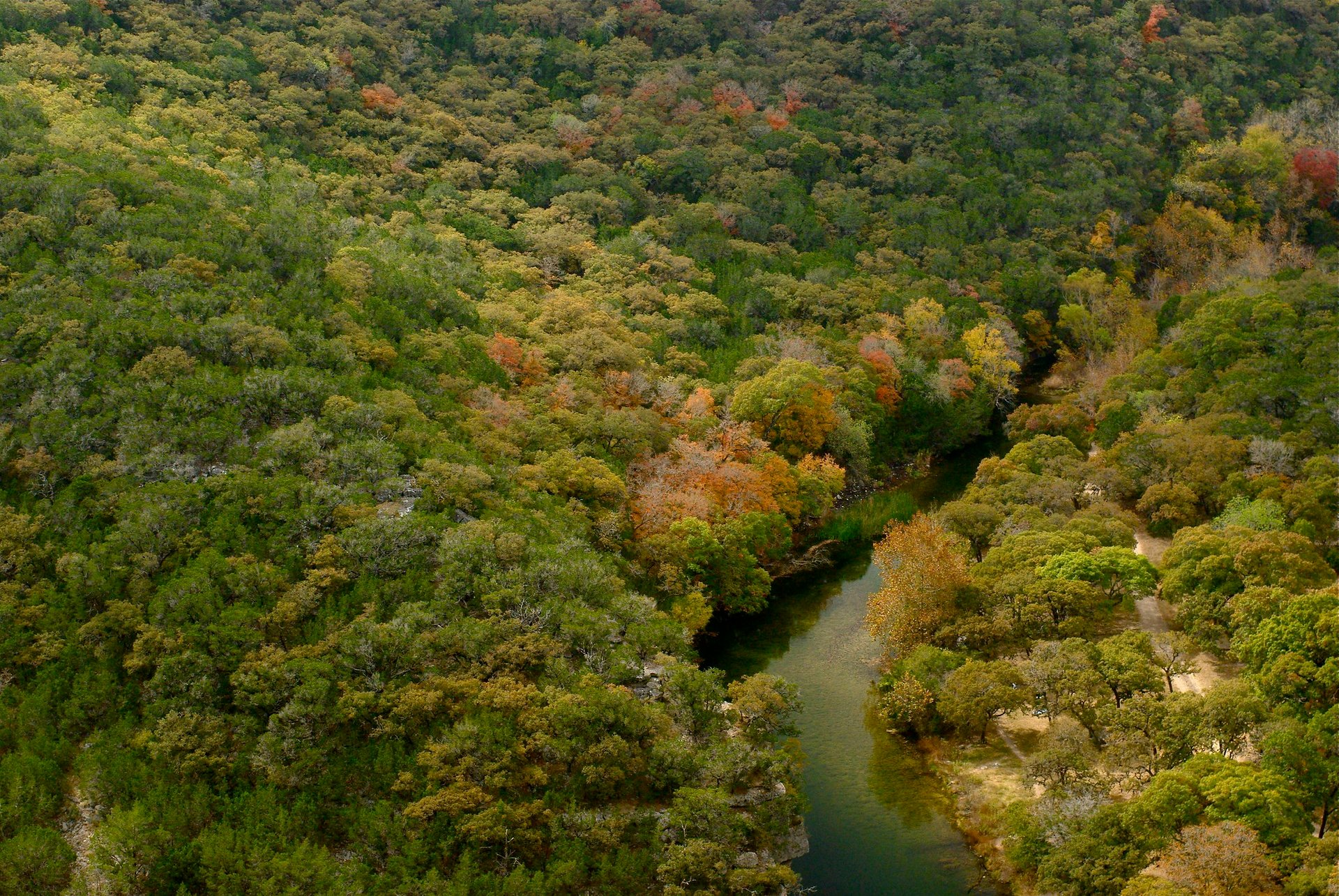 Lost Maples State Natural Area in the Texas Hill Country 2020