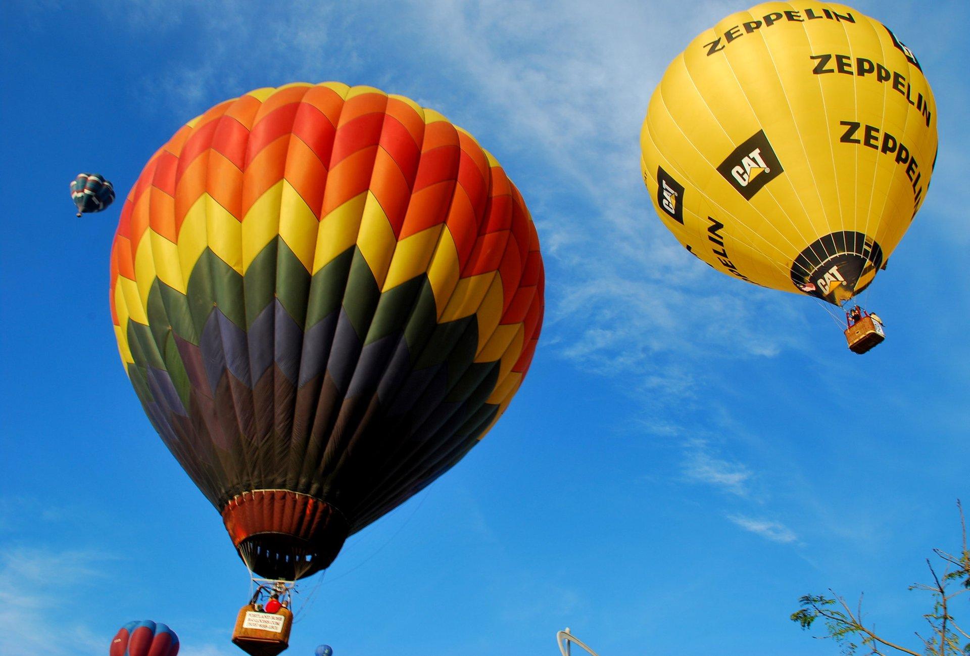 Putrajaya International Hot Air Balloon Fiesta in Kuala Lumpur - Best Season 2020