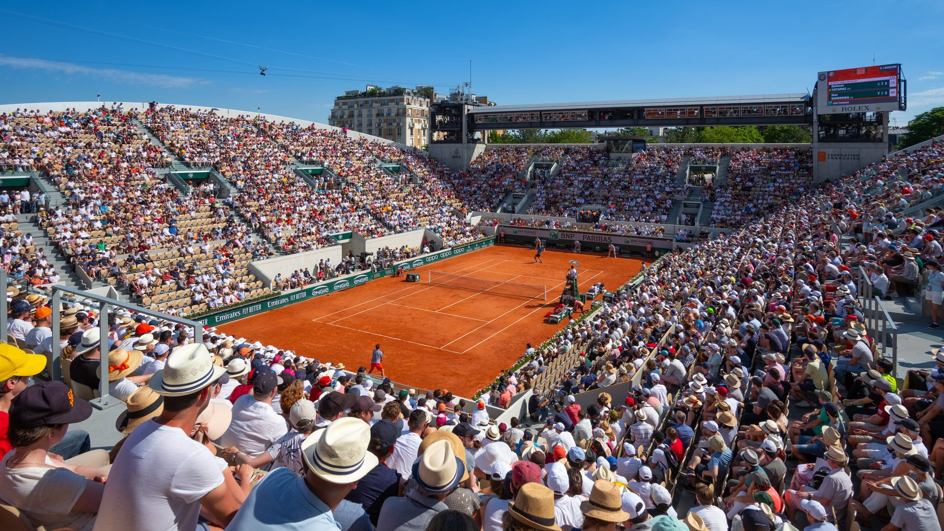 French Open (Roland Garros) in Paris 2020 - Best Time