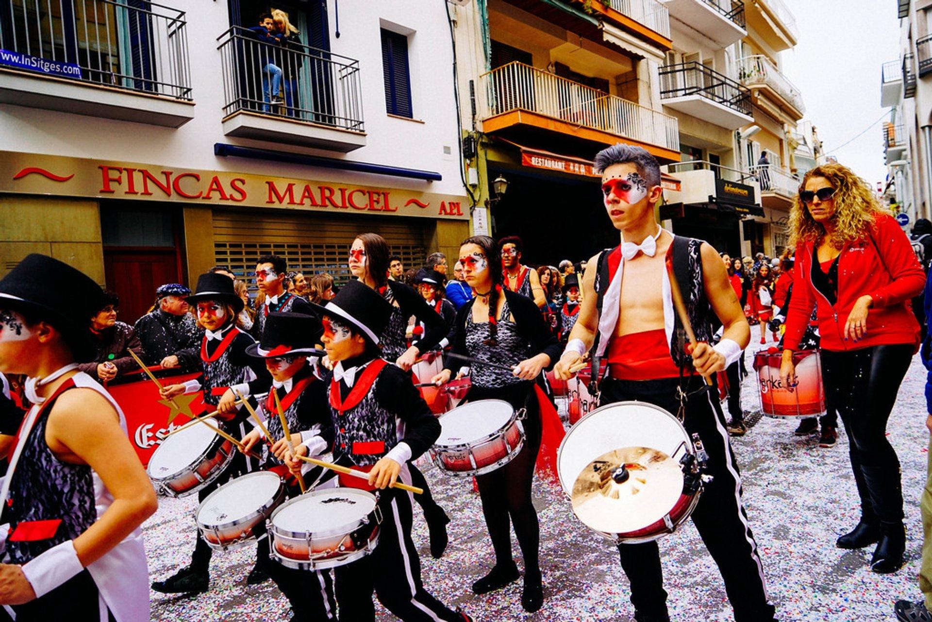 Sitges Carnival in Barcelona - Best Time