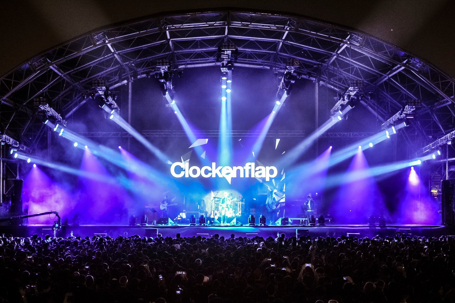 Best time for Clockenflap in Hong Kong