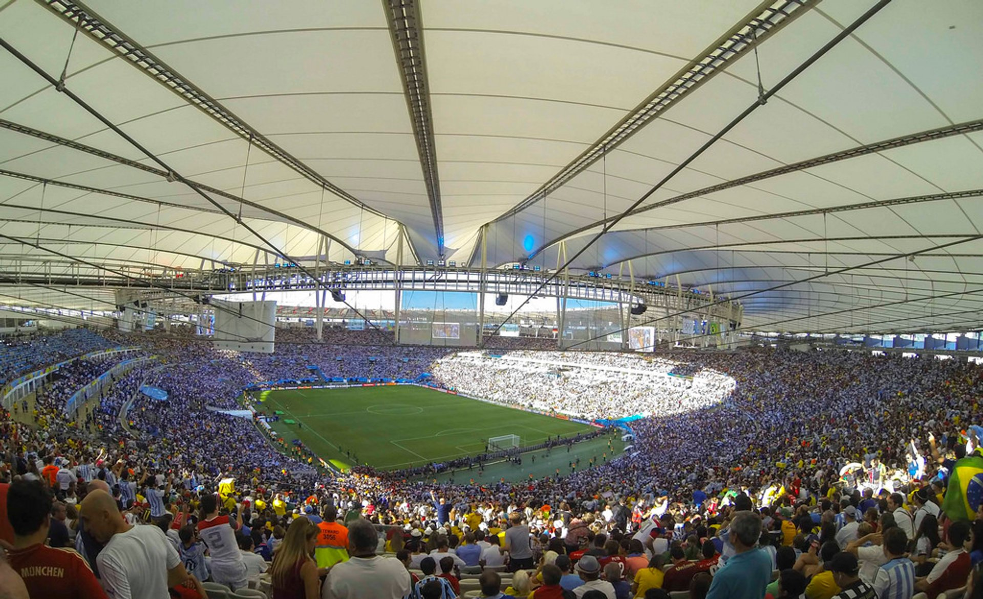 Football at Maracanã Stadium in Rio de Janeiro - Best Season 2020