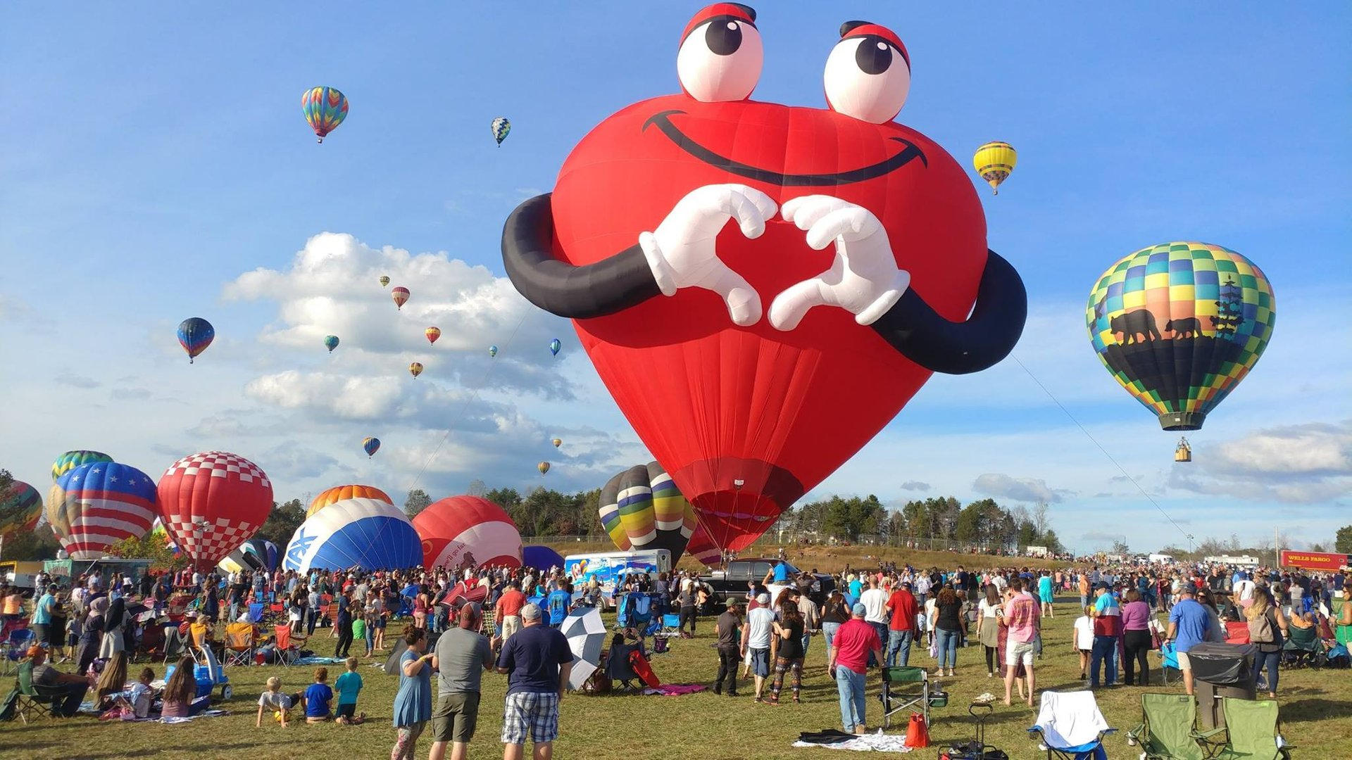 Balloon Festival 2020 Nj.Carolina Balloon Fest 2019 In North Carolina Dates Map