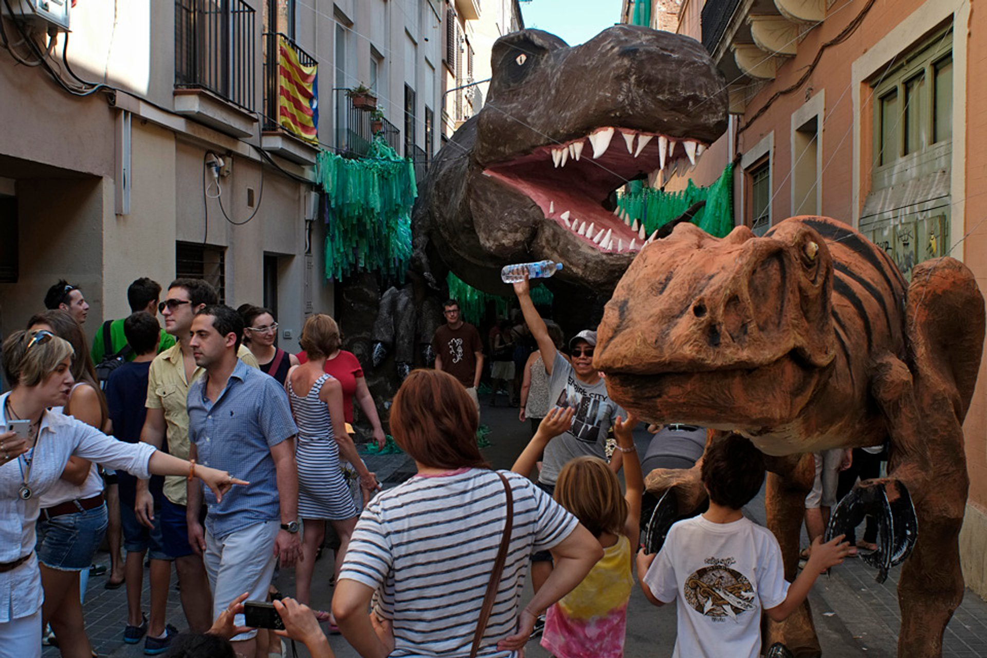 Best time for Festa Major de Gràcia in Barcelona