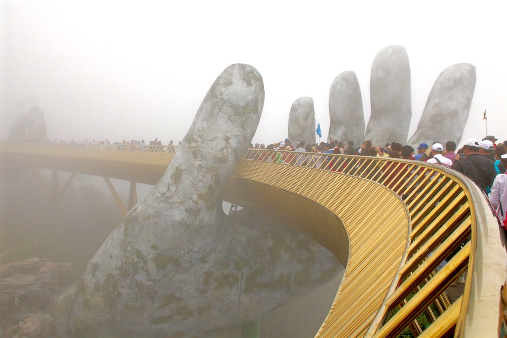 Golden Bridge (Cầu Vàng) in Vietnam - Best Season 2020