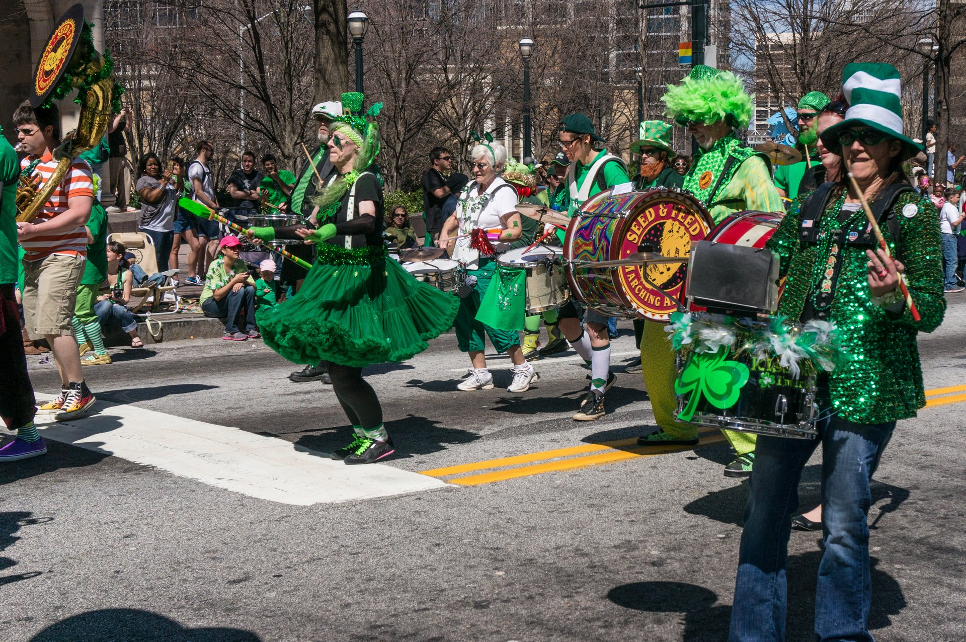 Best time to see Atlanta St. Patrick's Parade 2020